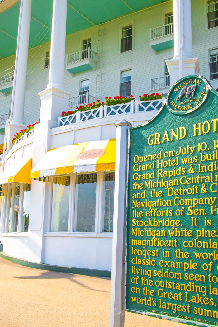 10 Reasons to Visit the Grand Hotel on Mackinac Island