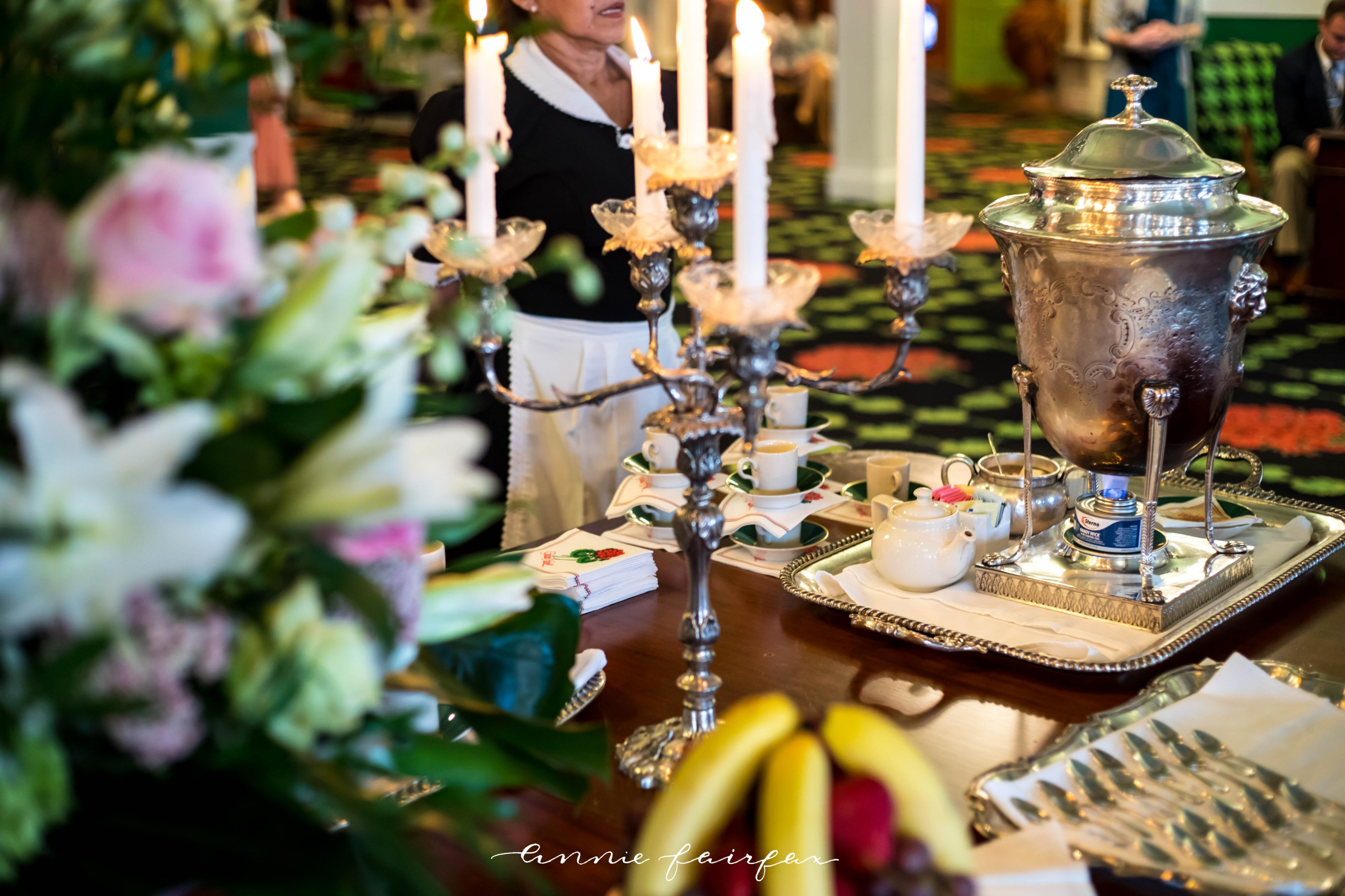 Afternoon Tea Dining at the Grand Hotel on Mackinac Island