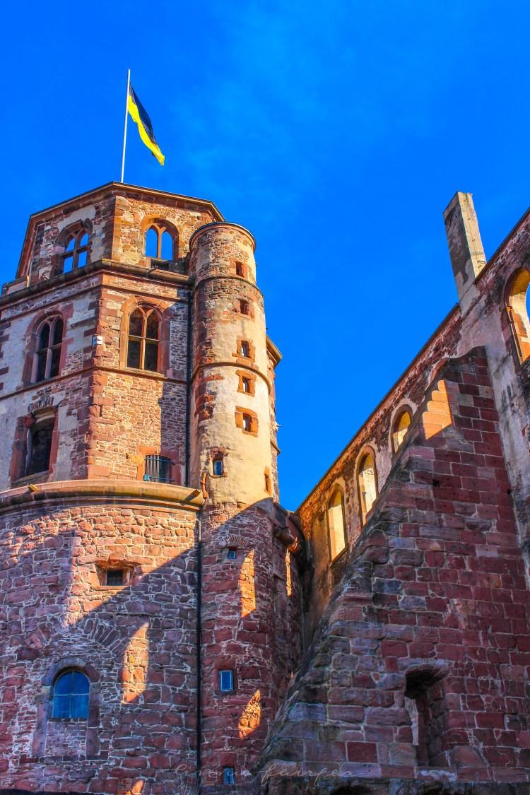 Exploring Heidelberg Castle in Heidelberg, Germany