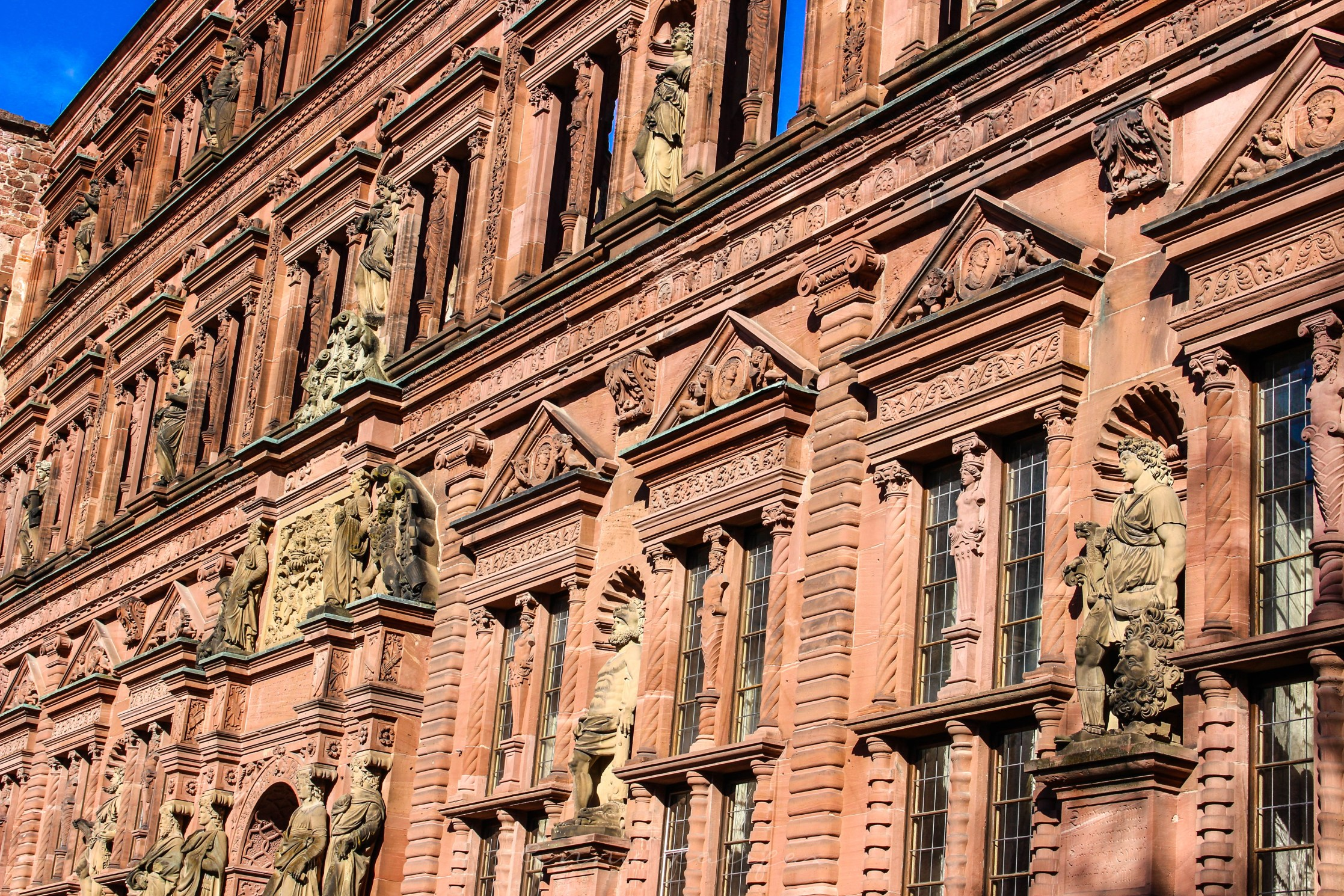 Heidelberg Castle in Heidelberg Germany German Architecture
