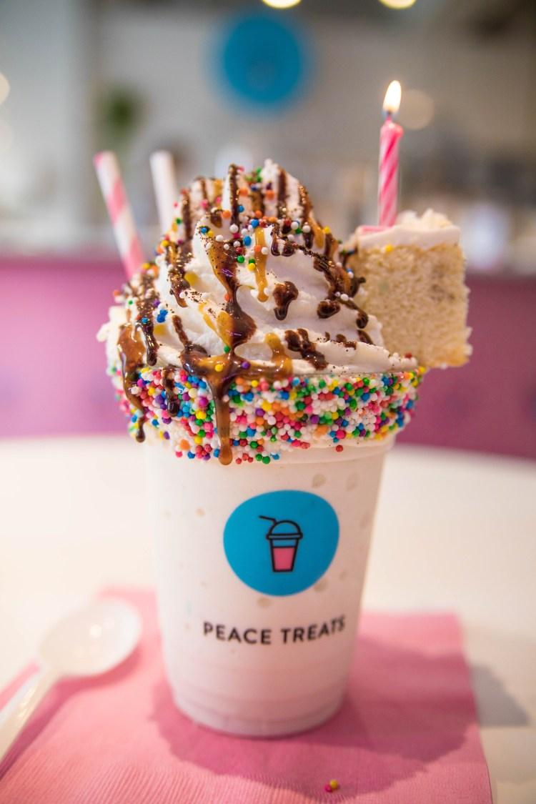 Peace Treats Milkshakes | Toronto
