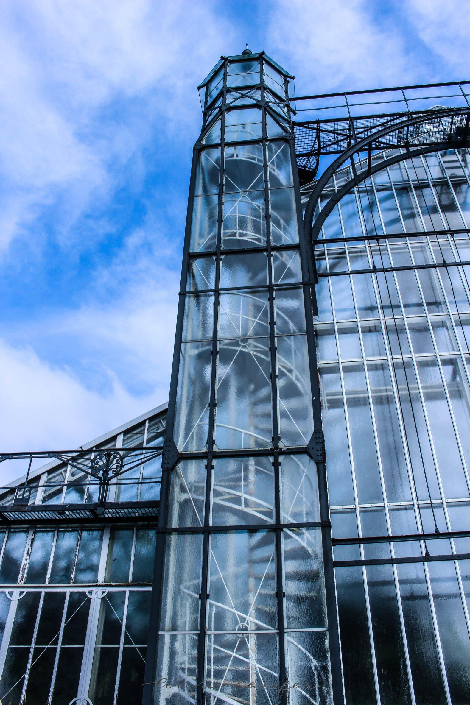 Glass Castle Greenhouse in Berlin, Germany