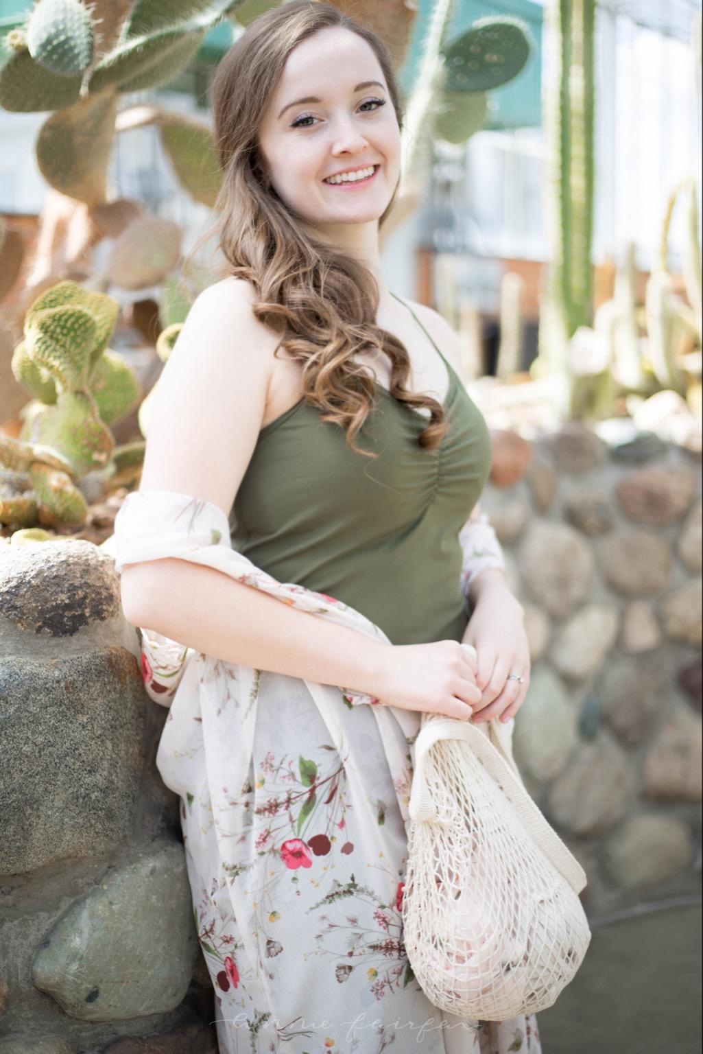 PrAna Elixir Dress Bobeau Kimono Wrap Organic Cotton Market Bag