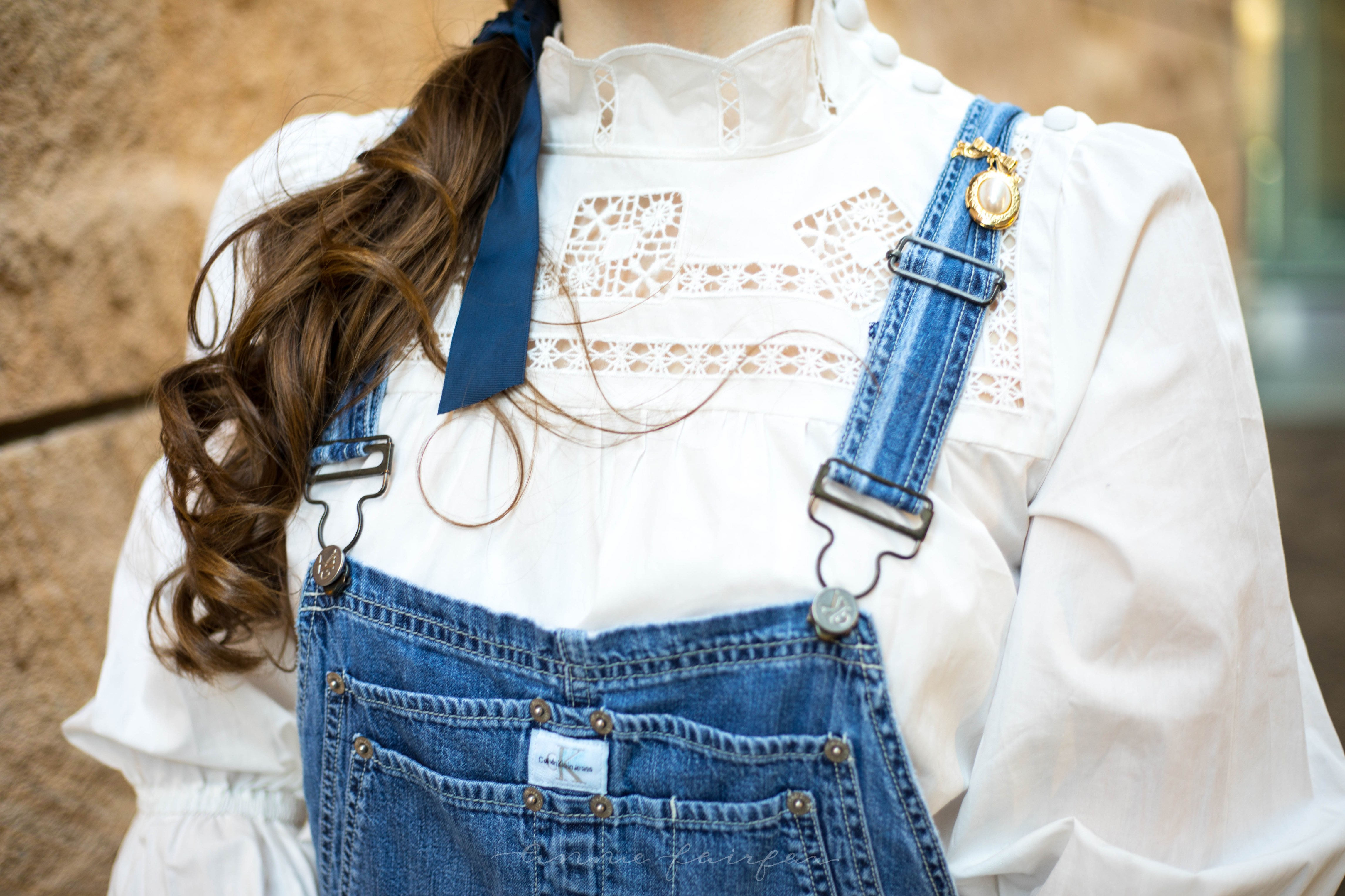Feathered Pour La Victoire Shoes Denim Overalls Elegant Bell Sleeve Embroidered Free People Top