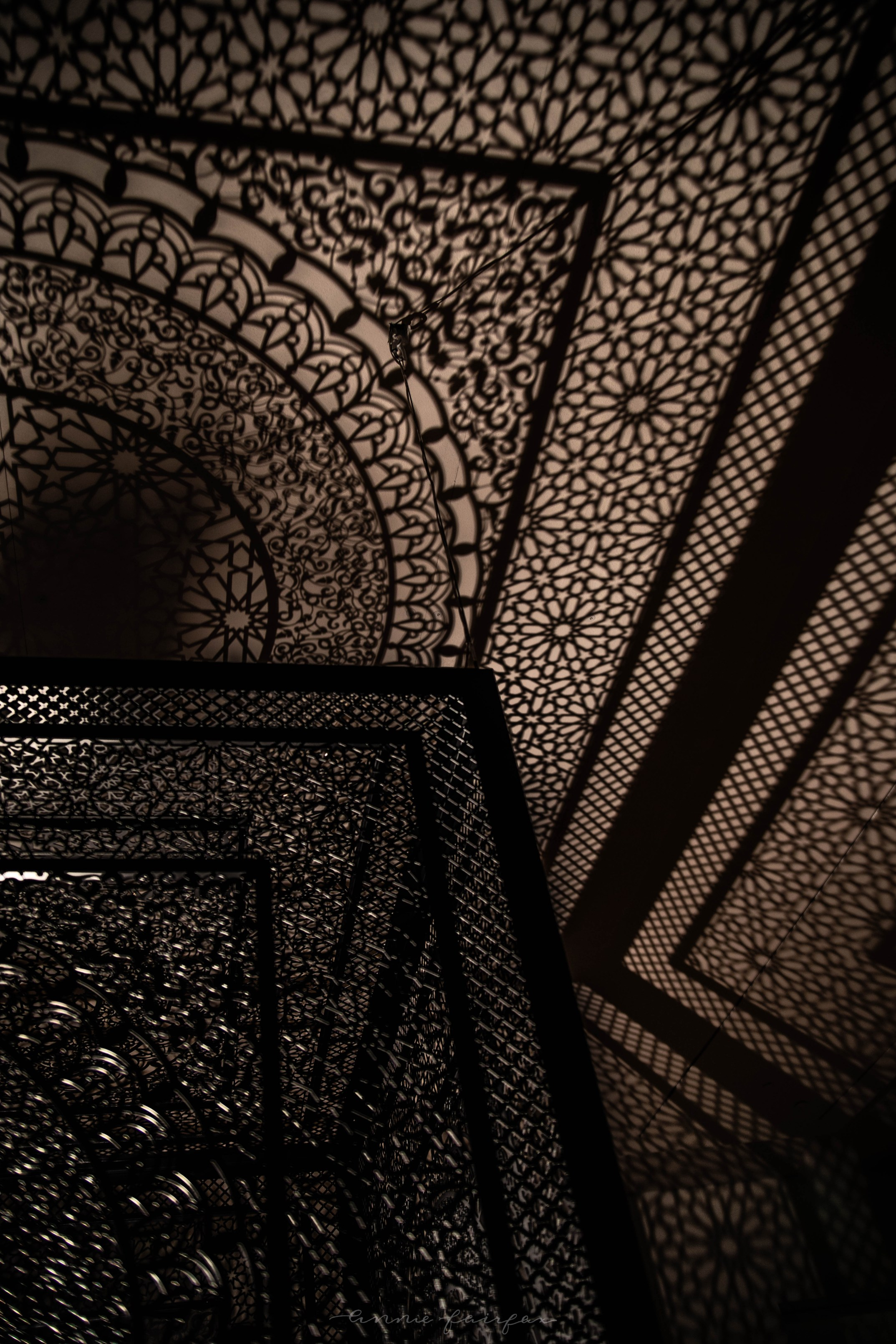 Anila Quayyum Agha: Intersections Grand Rapids Art Museum Art Prize Winner Shadows and Light Negative Space
