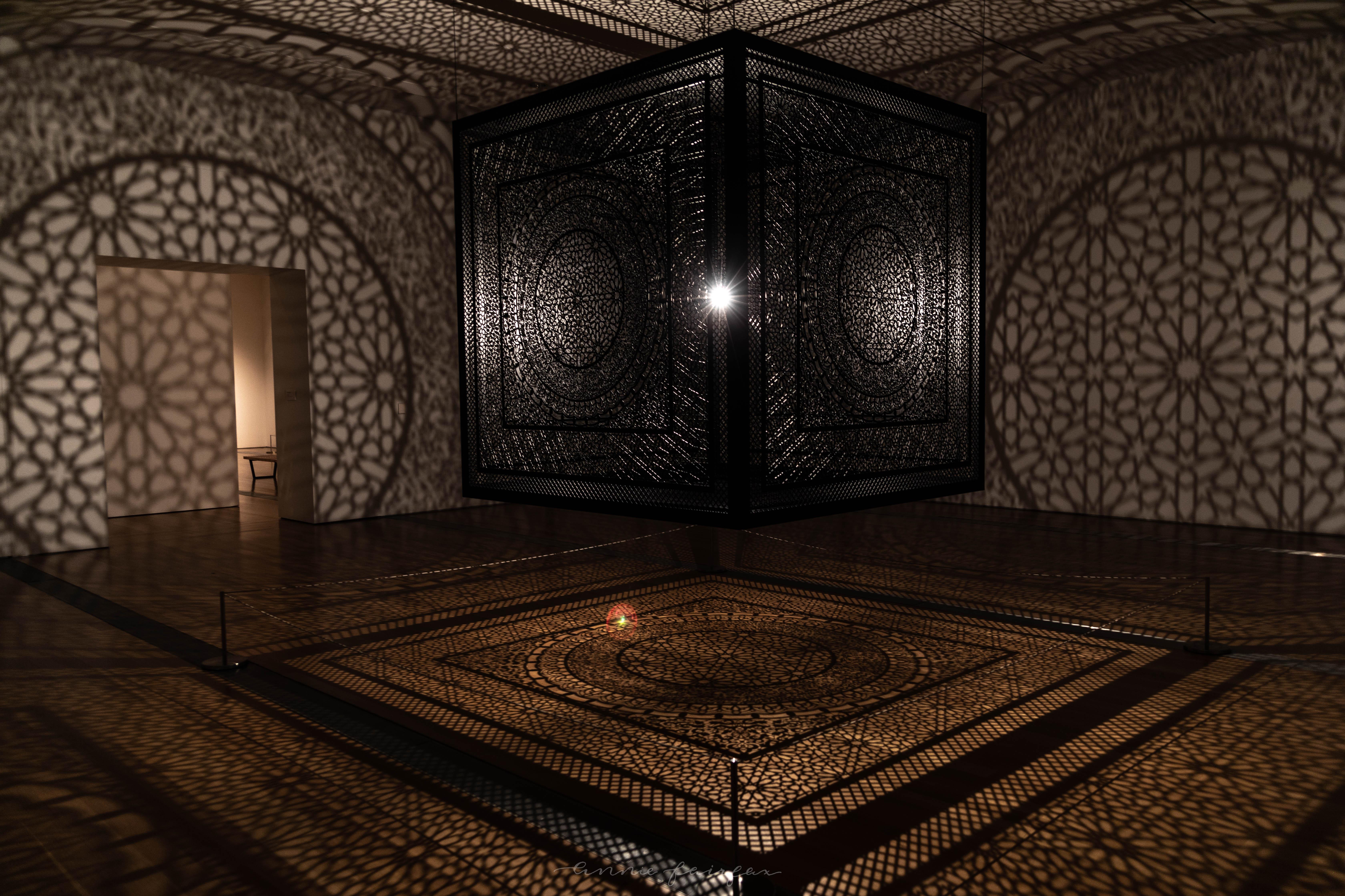 Anila Quayyum Agha: Intersections Grand Rapids Art Museum Art Prize Winner Shadows and Light Negative Space