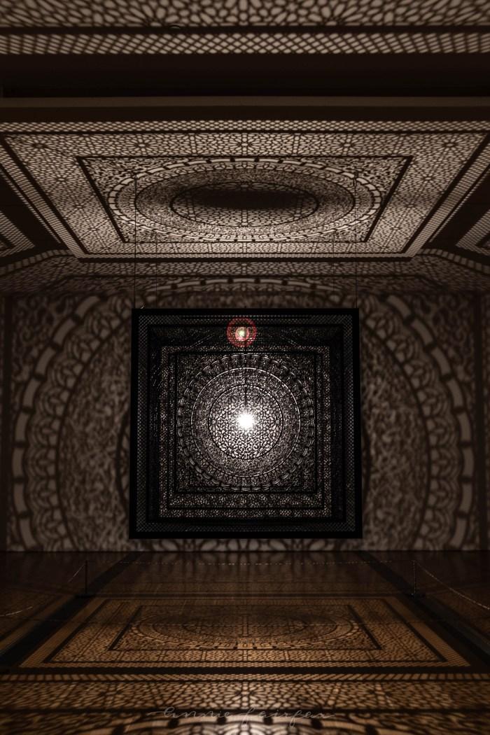 Anila Quayyum Agha: Intersections Exhibit at GRAM