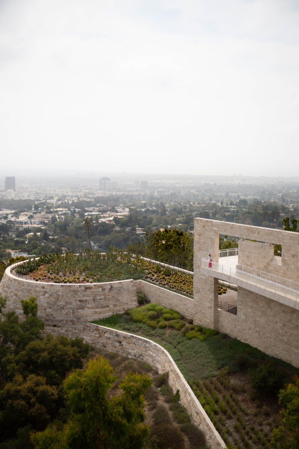 The Getty Museum in Los Angeles, California Home to Rembrandt, van Gogh, Monet, Picasso, and Many Other Famous Works of Art