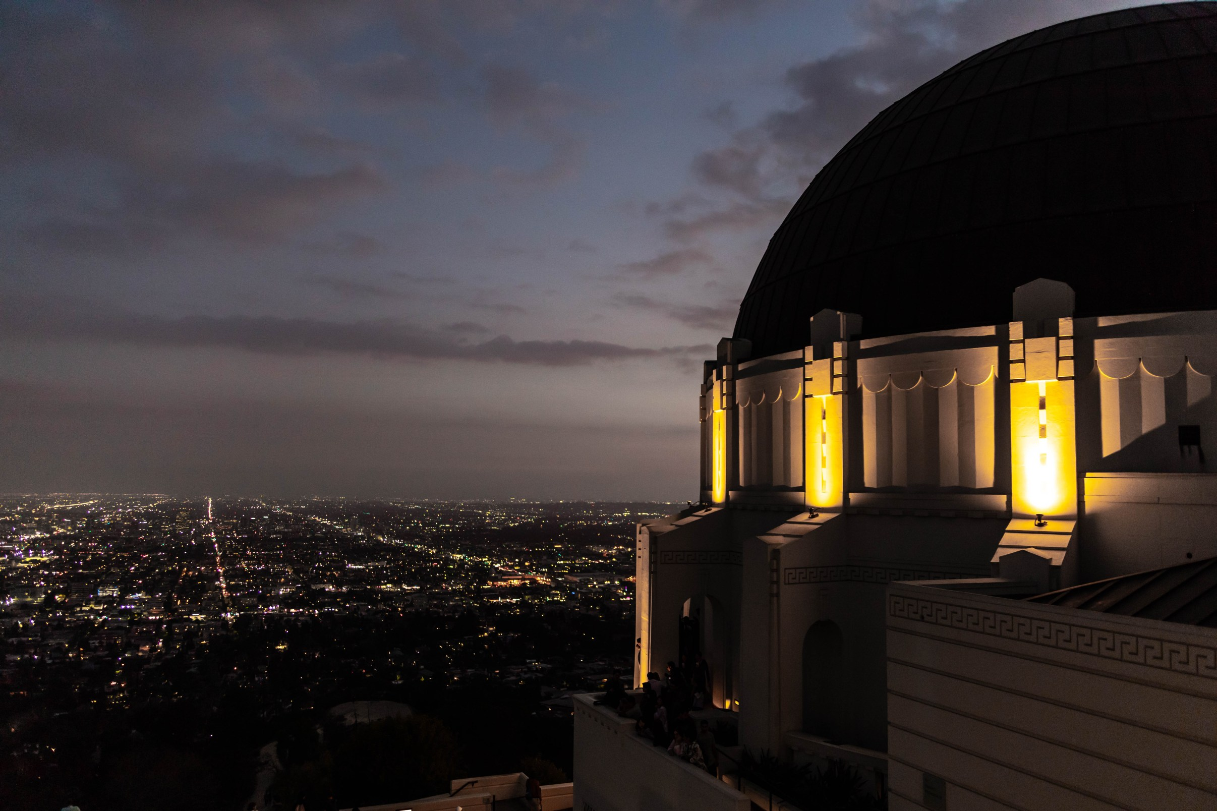 Griffith Observatory and Museum in Los Angeles