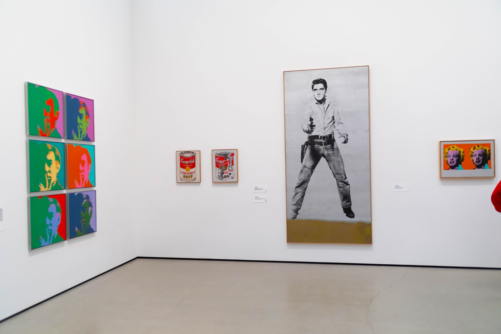 Single Elvis (Ferus Type) by Andy Warhol at The Broad Museum in Los Angeles