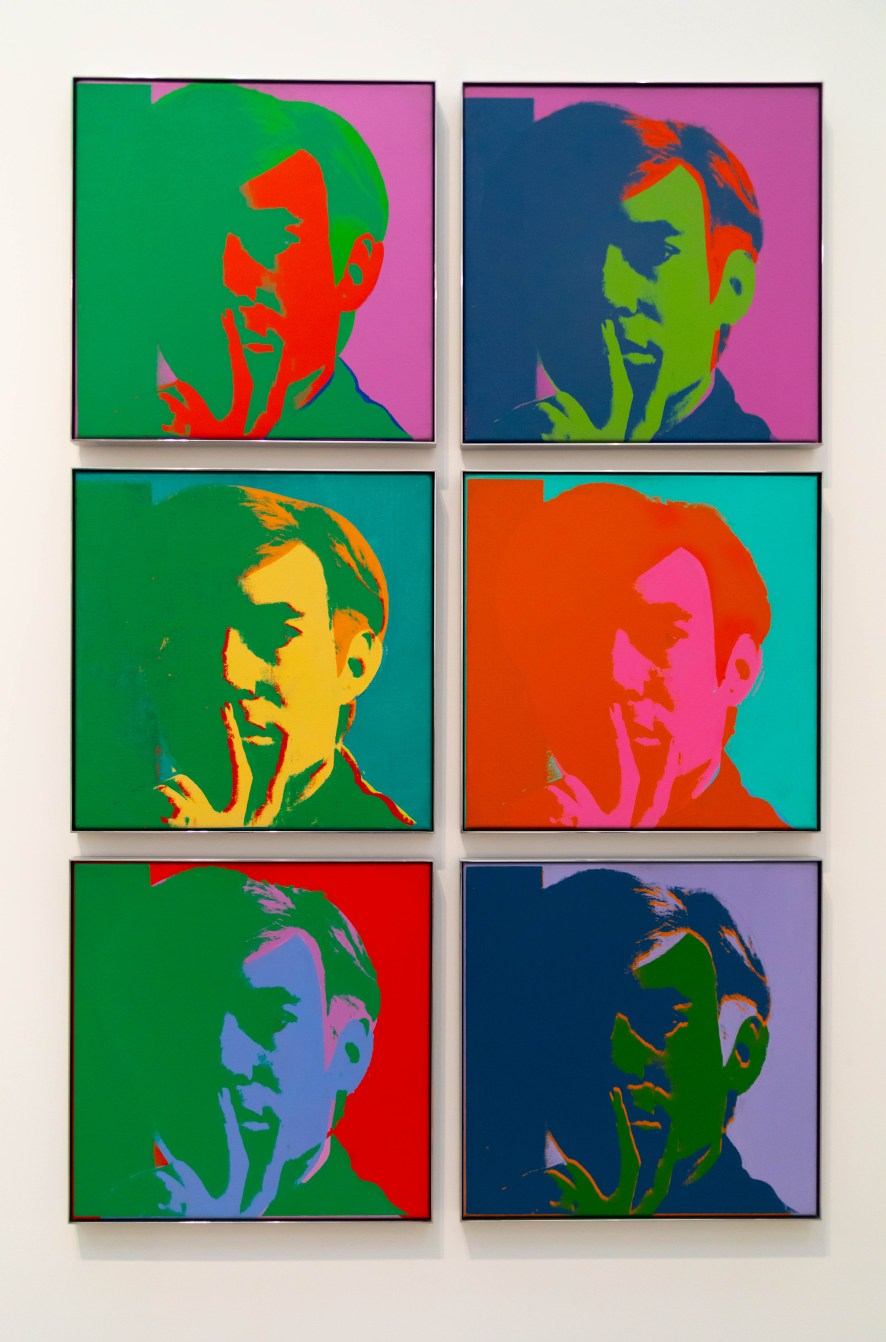 Self-Portrait by Andy Warhol at The Broad Museum in Los Angeles