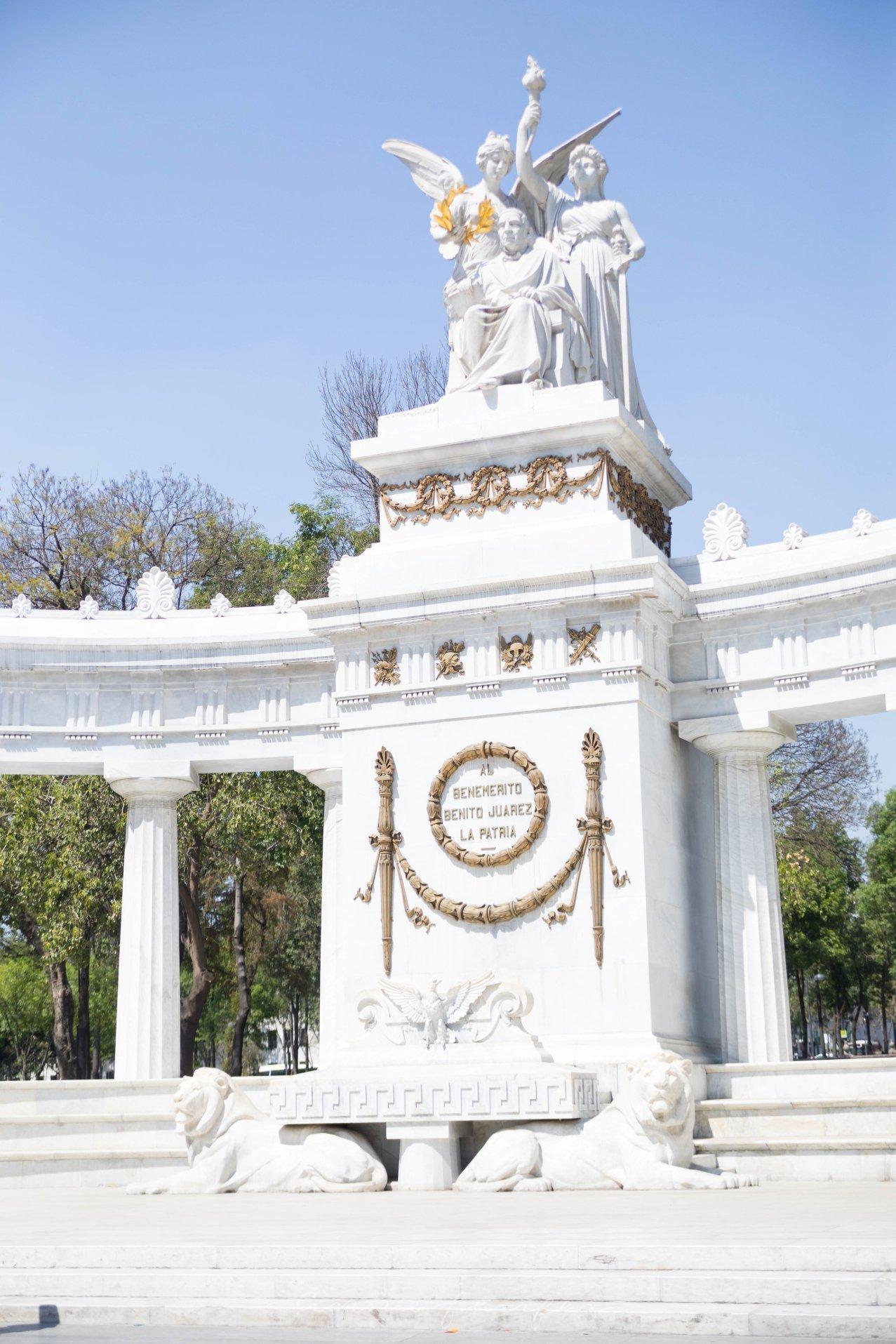 Monument to Benito Juarez Hemiciclo de Benito Juarez Mexico City