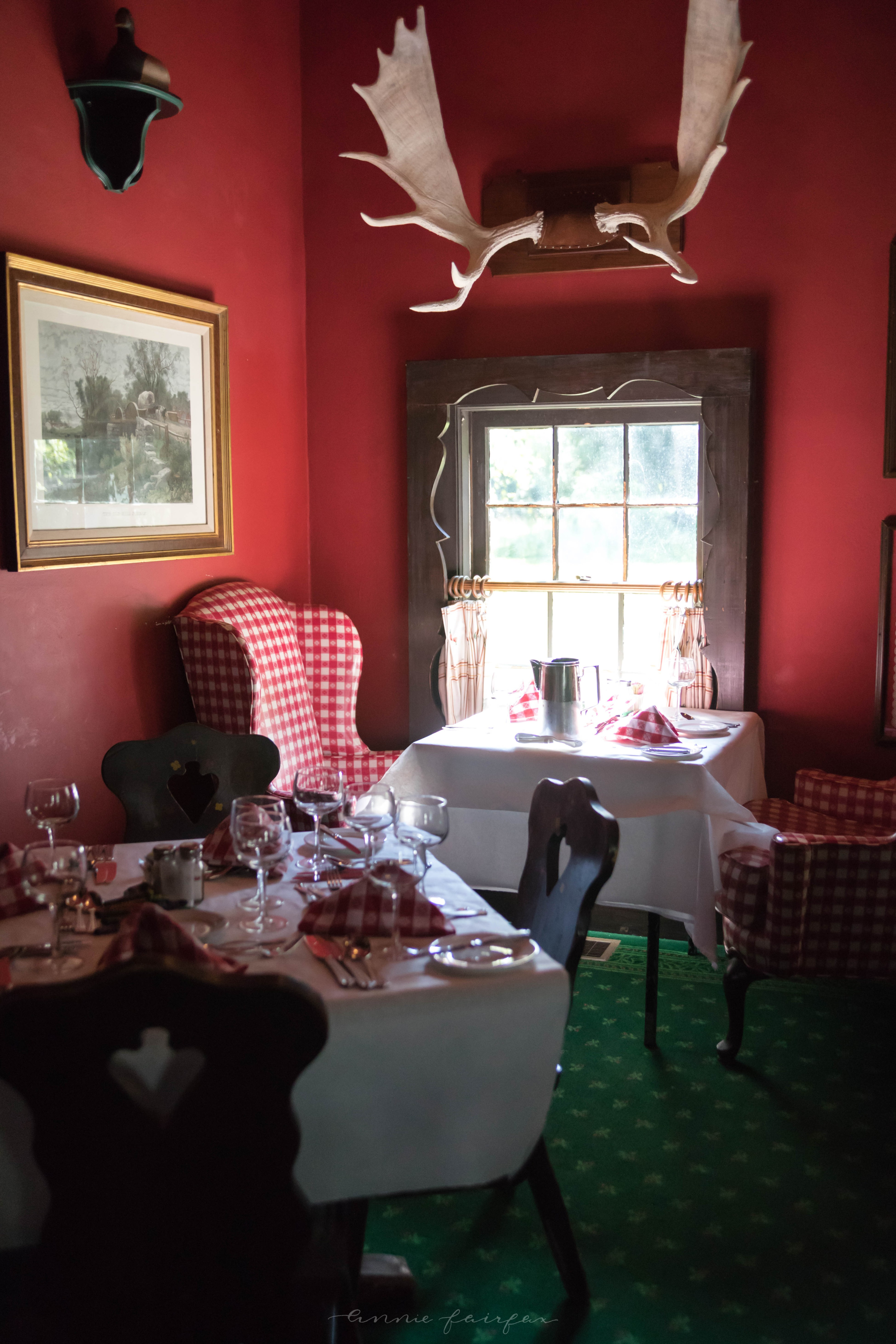 Photo of Woods Restaurant on Mackinac Island, Michigan Grand Hotel by Annie Fairfax
