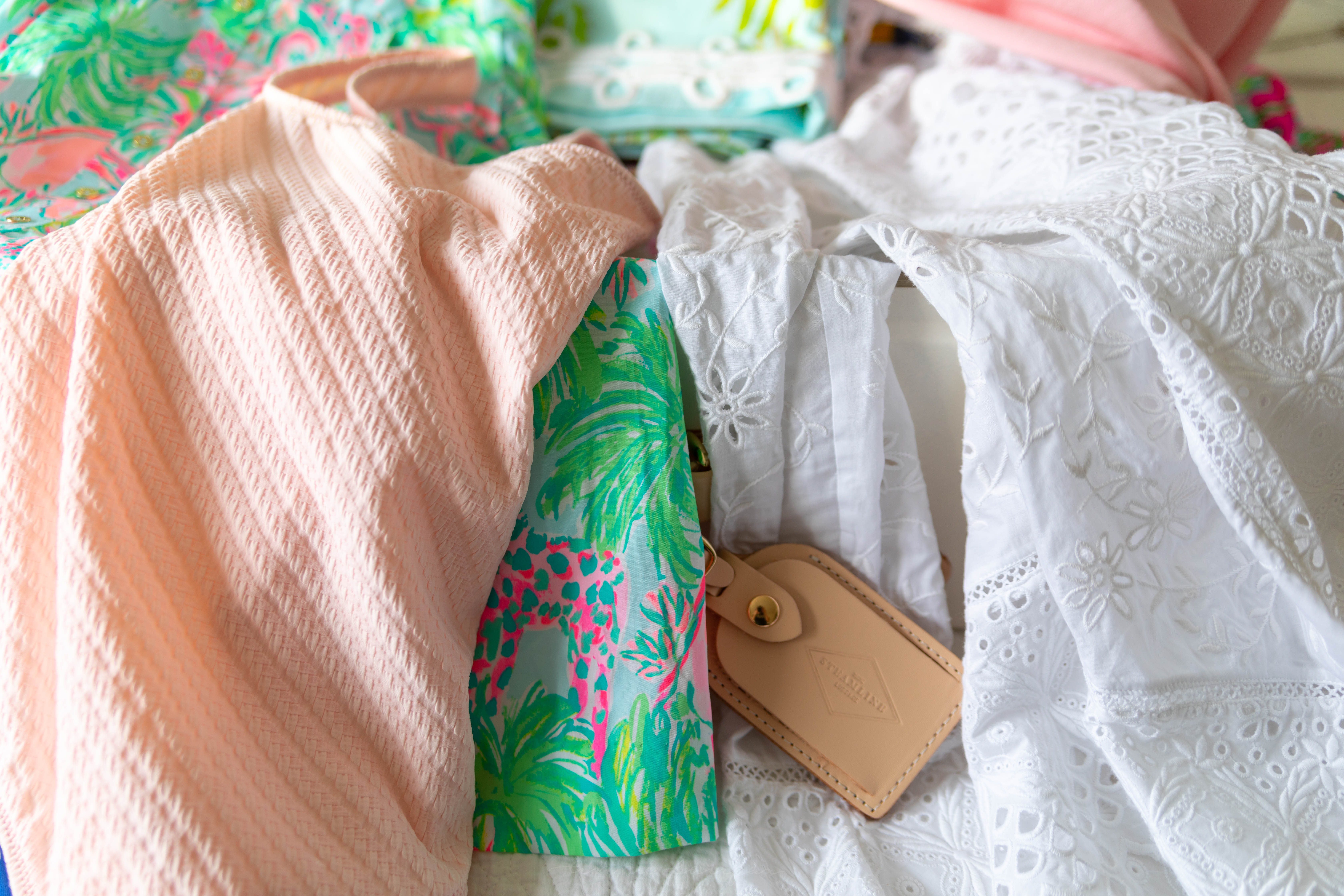Steamline Luggage Review and Packing List for Travelers, Vacation, Weekend Getaway, Lilly Pulitzer, Vineyard Vines, Solid & Striped