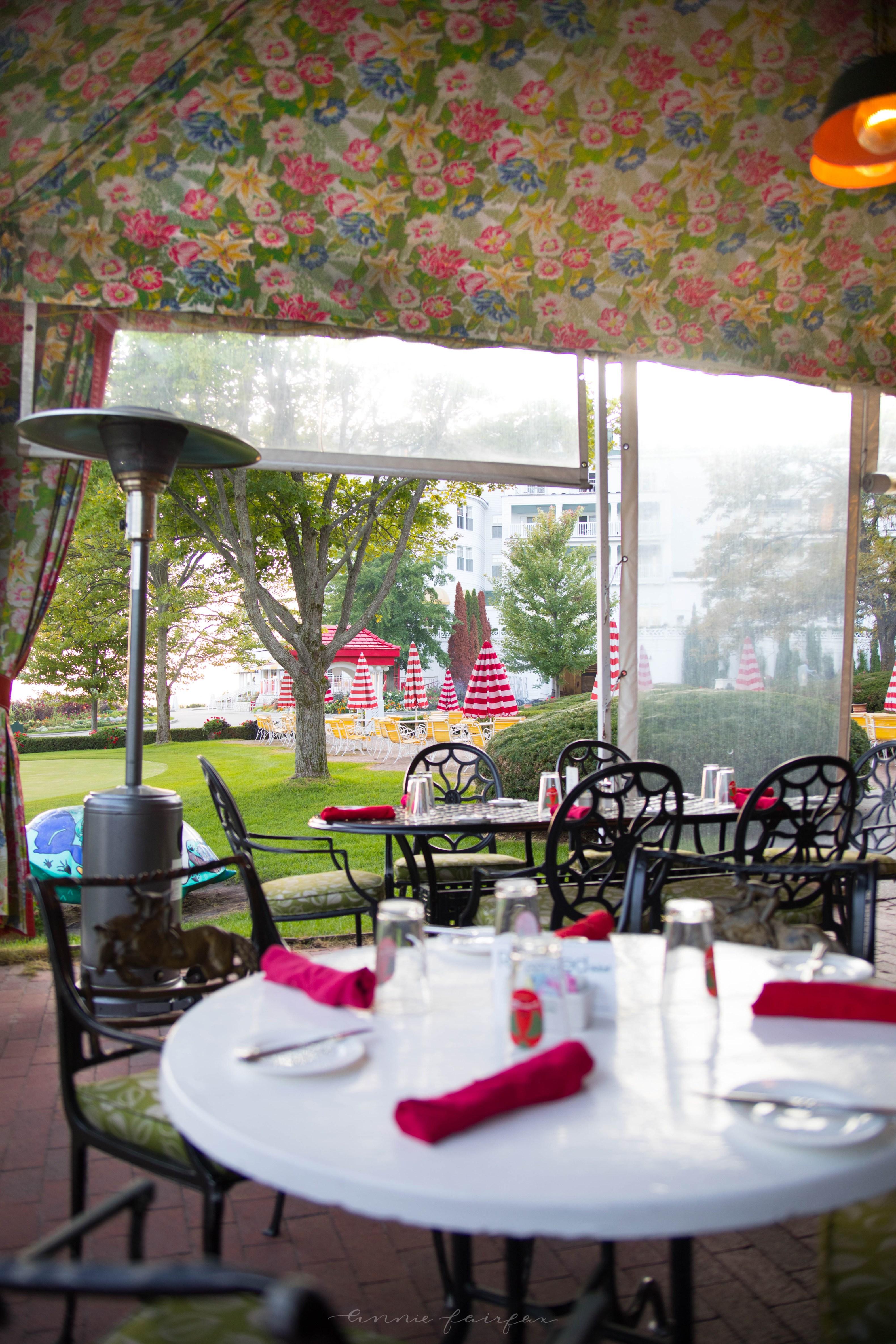 Luxury Restaurants of the World: Jockey Club Grand Hotel Mackinac Island Michigan
