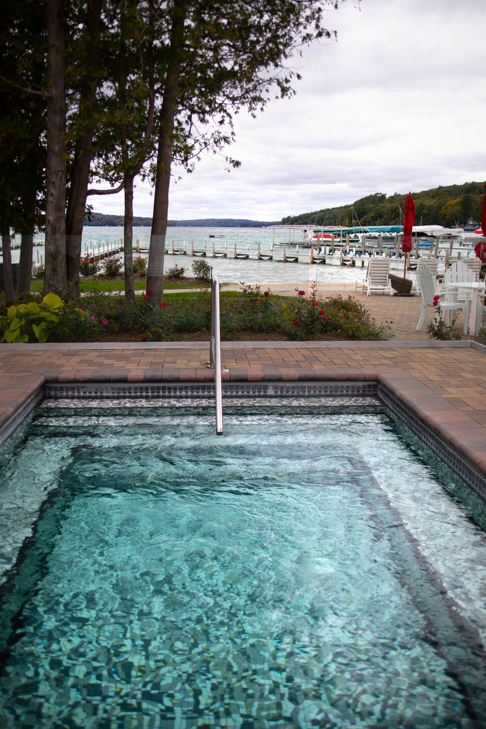 Dreamy Wedding Venues at Hotel Walloon Walloon Lake Village Northern Michigan Beach weddings