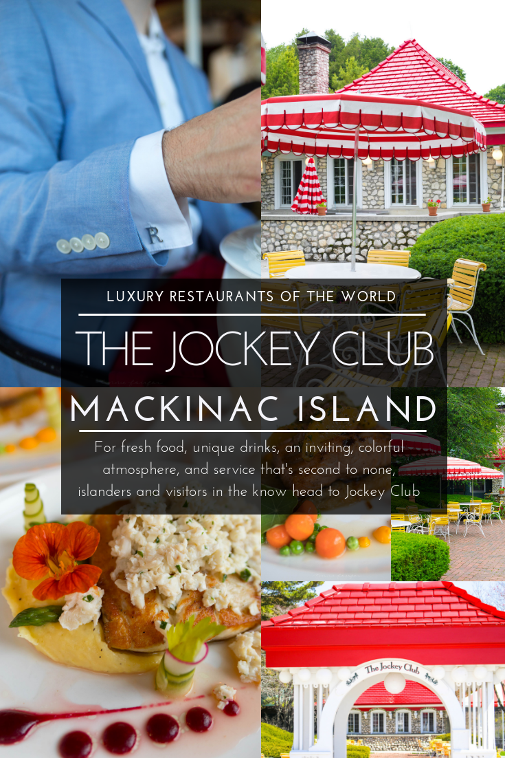 Luxury Restaurants of the World: Jockey Club Grand Hotel Mackinac Island Michigan