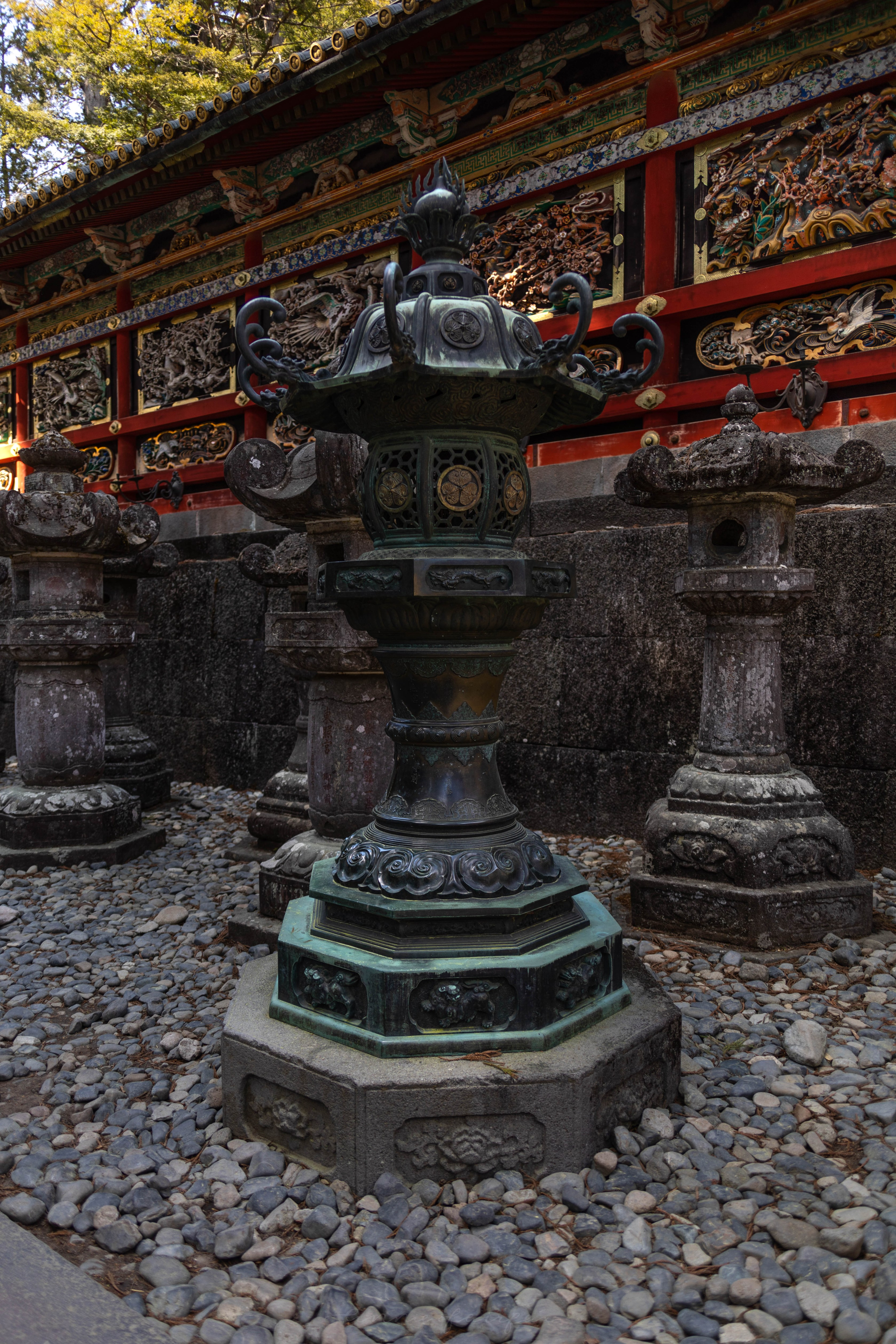 Stone Lanterns in Nikko, Japan, the Ultimate Travel Guide Written, Researched, and Photographed by Travel Writer & Photographer Annie Fairfax