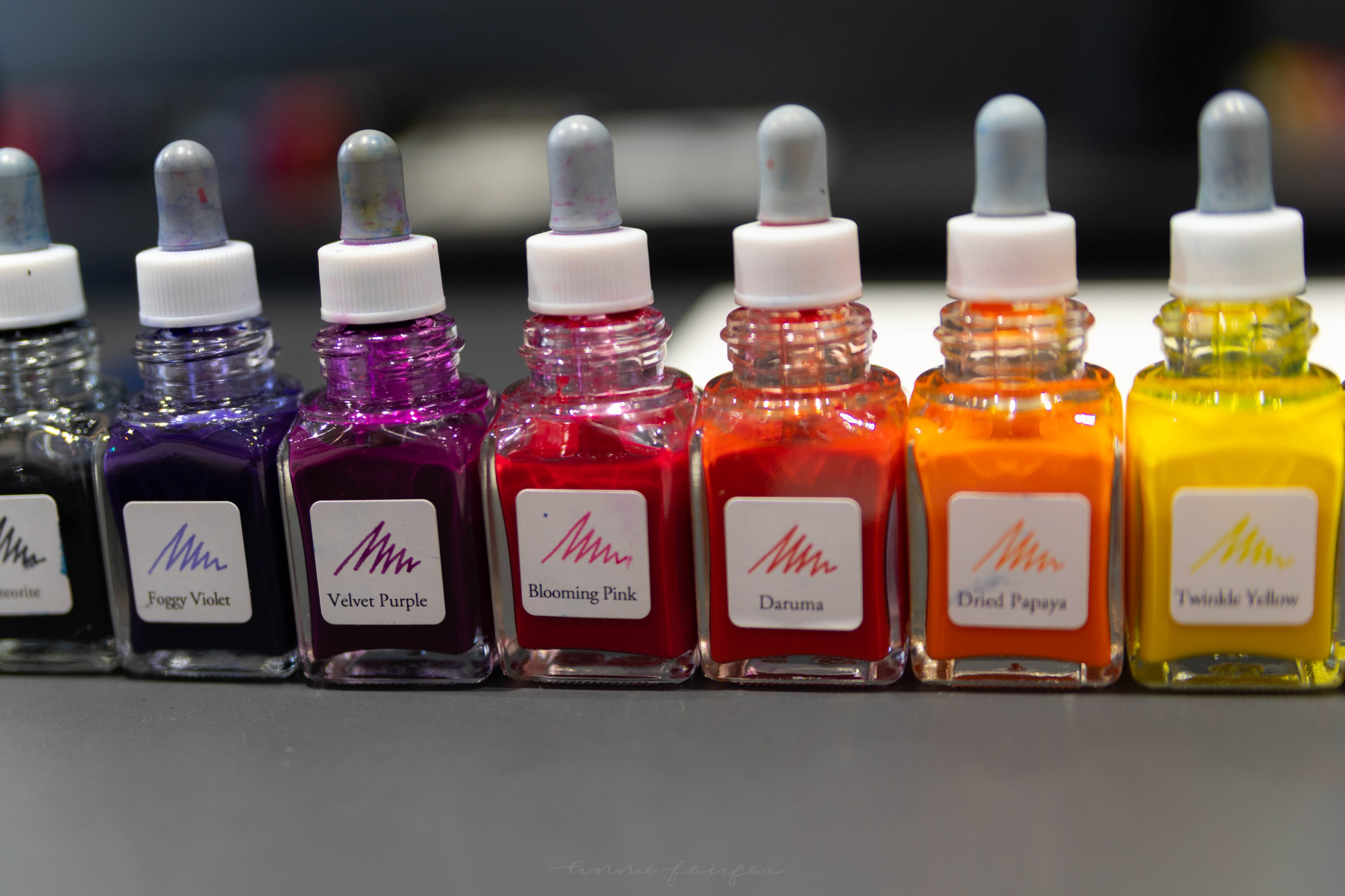 Custom Blended Ink from InkStand in Tokyo, Japan Calligraphy Artist Supplies