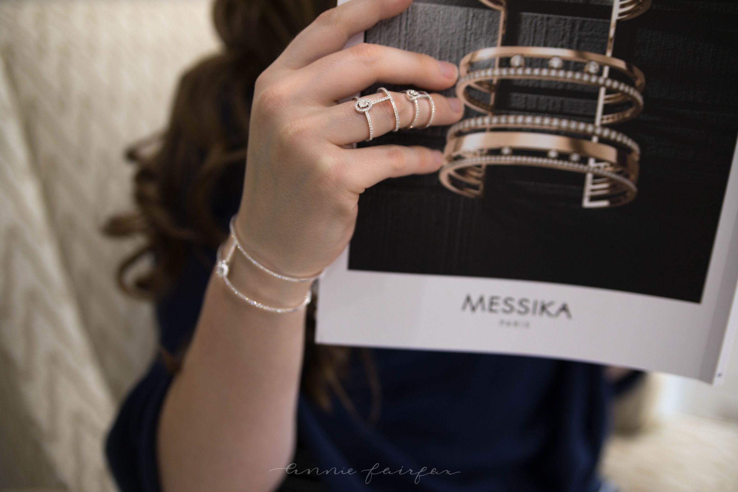 Messika Diamonds with Lucido Fine Jewelery in Birmingham by Annie Fairfax Luxury Lifestyle Writer