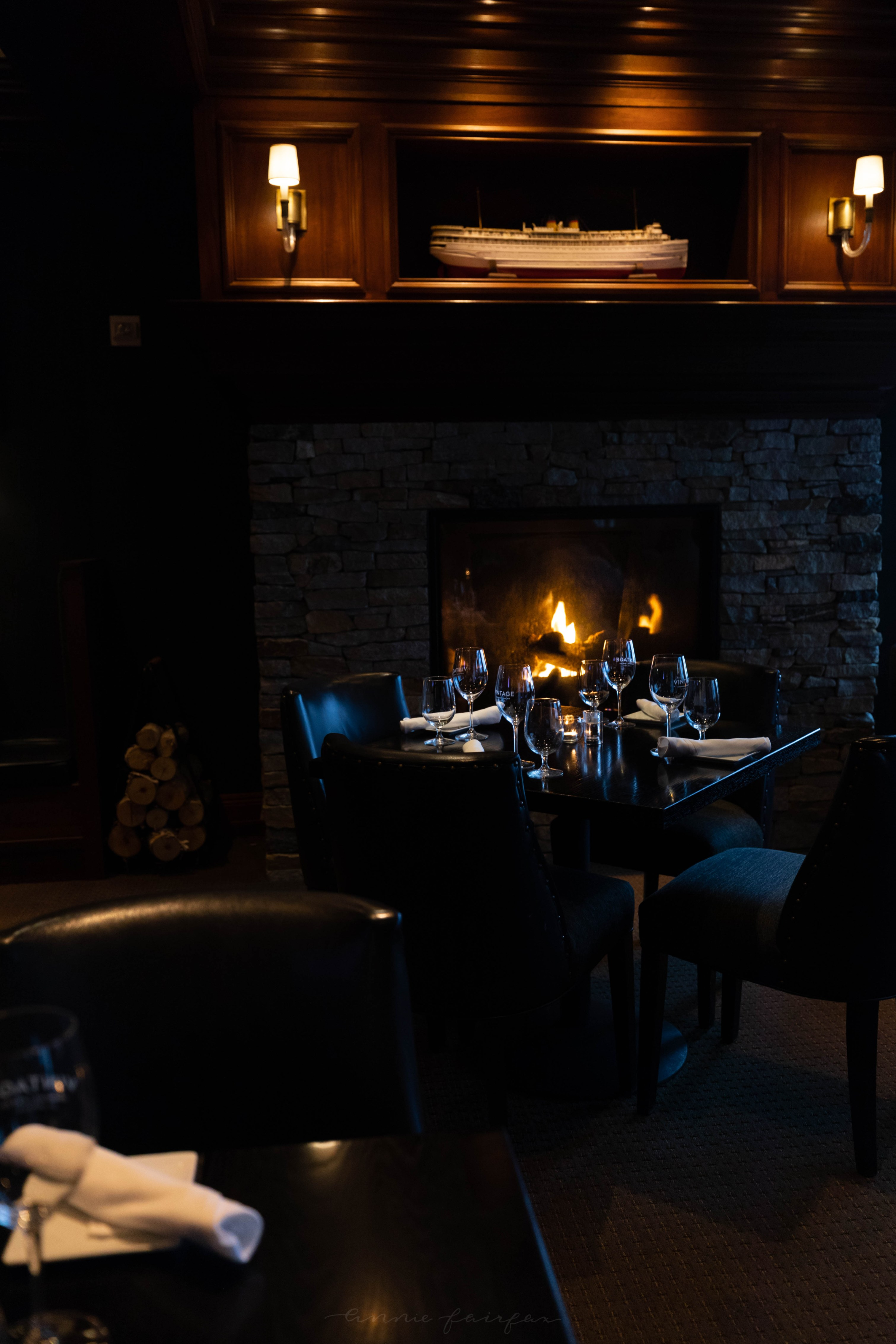 Vintage Chophouse and Wine Bar at The Inn at Bay Harbor Autograph Collection Hotel in Bay Harbor Northern Michigan Petoskey Area Luxury Hotels of the World Top 500 Hotels in the World by Annie Fairfax
