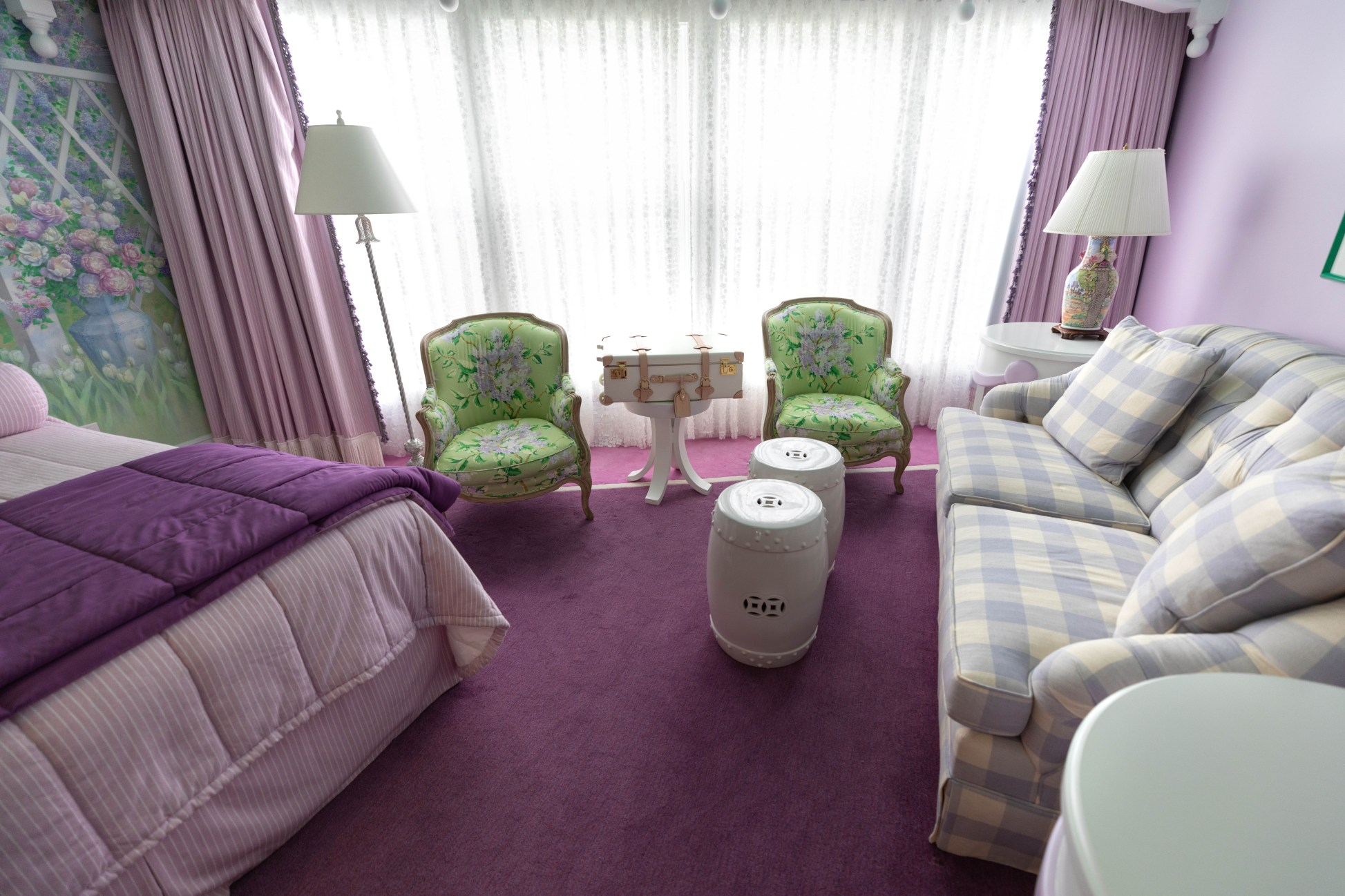 Lilac Suite at Grand Hotel on Mackinac Island Lilac Festival Luxury Hotels of the World