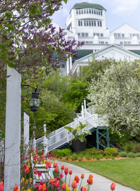 Grand Hotel on Mackinac Island Mackinac Island Travel Guide Tourism Information