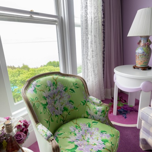 Lilac Suite at Grand Hotel on Mackinac Island