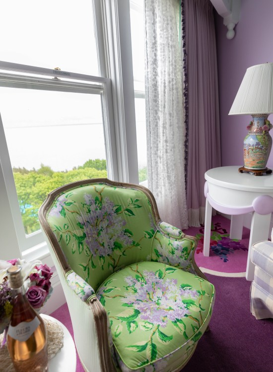 Lilac Suite at Grand Hotel on Mackinac Island, Michigan luxury Hotels Midwest