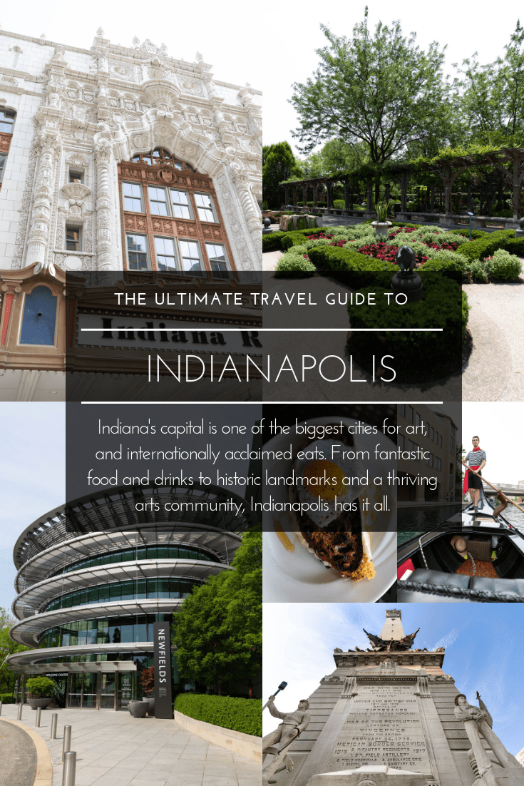 Indianapolis Travel Guide Newfields Indianapolis Zoo and Botanical Garden Where to Stay What to Eat What to Do Museums Gardens indy 500 Travel Guide