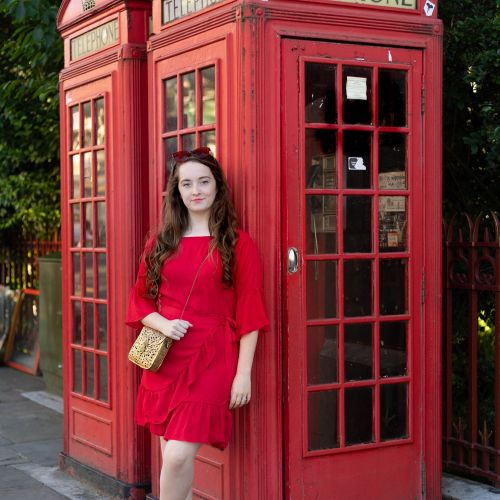 London Reds with Tieks & From St. Xavier