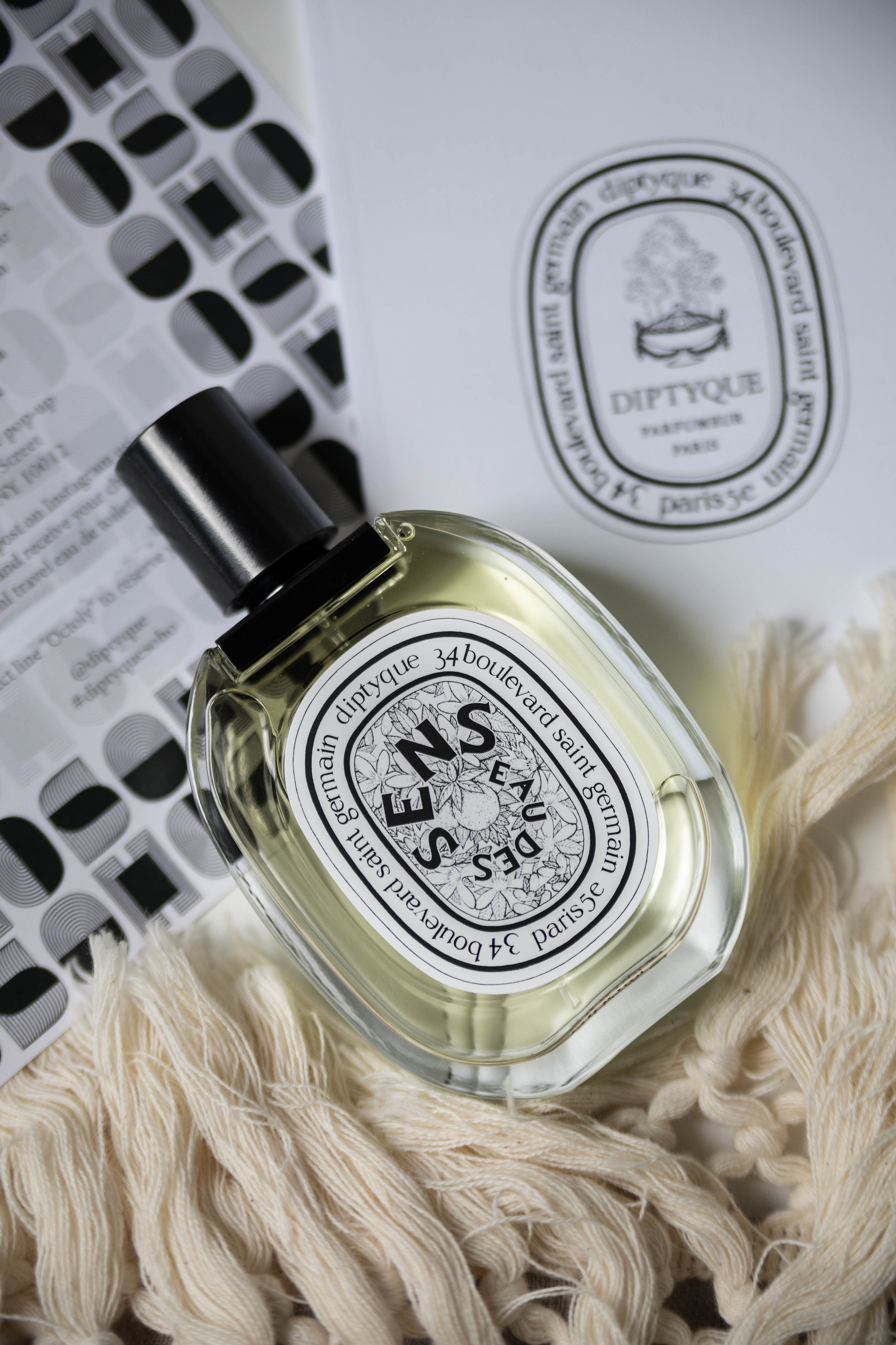 Diptyque Perfume Collection and Review of Eau des Sens Fragrance