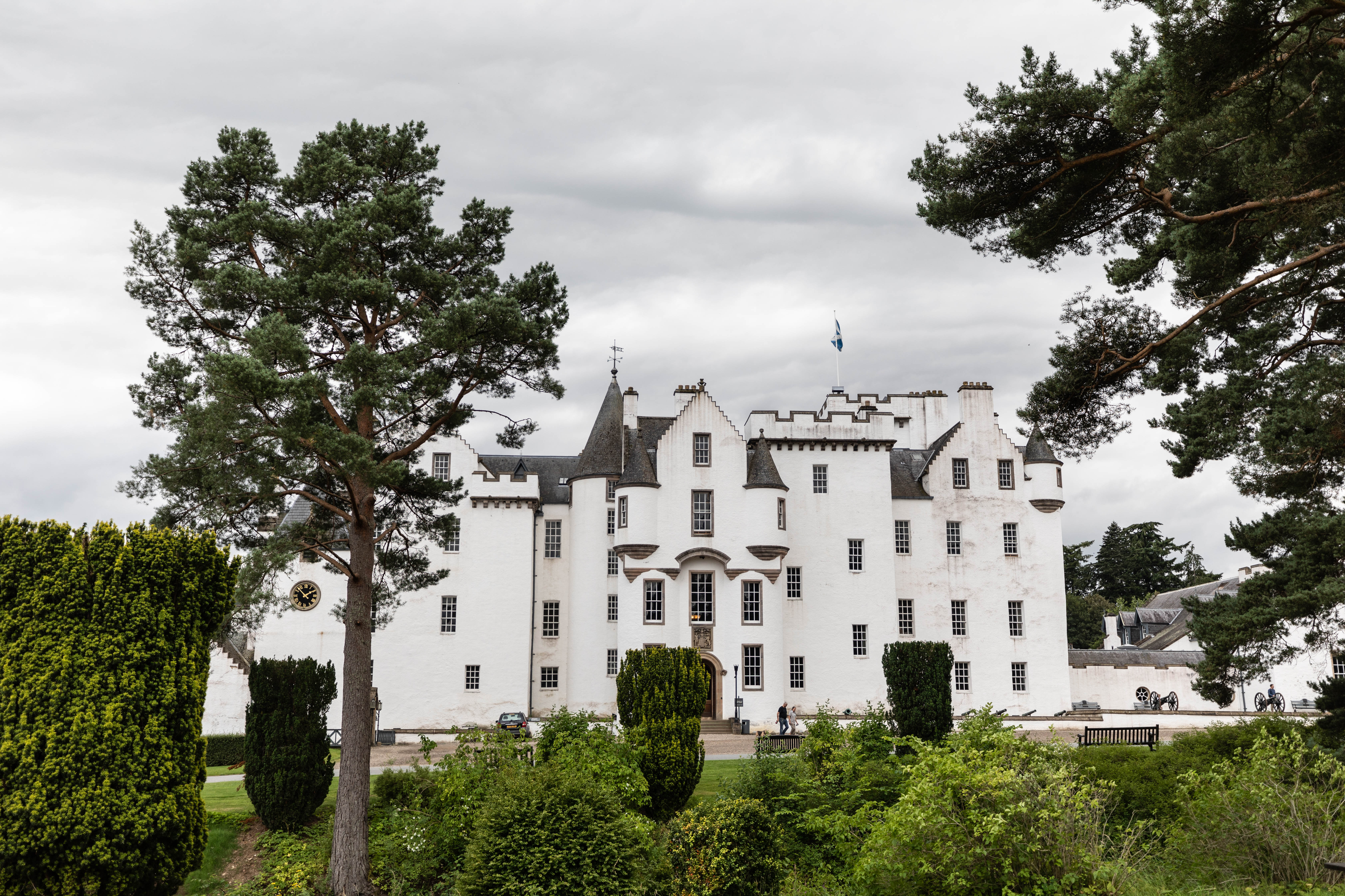 Blair Castle in Glen Garry Blair Atholl, Scotland Beautiful European Castles National Gardens United Kingdom by Annie Fairfax