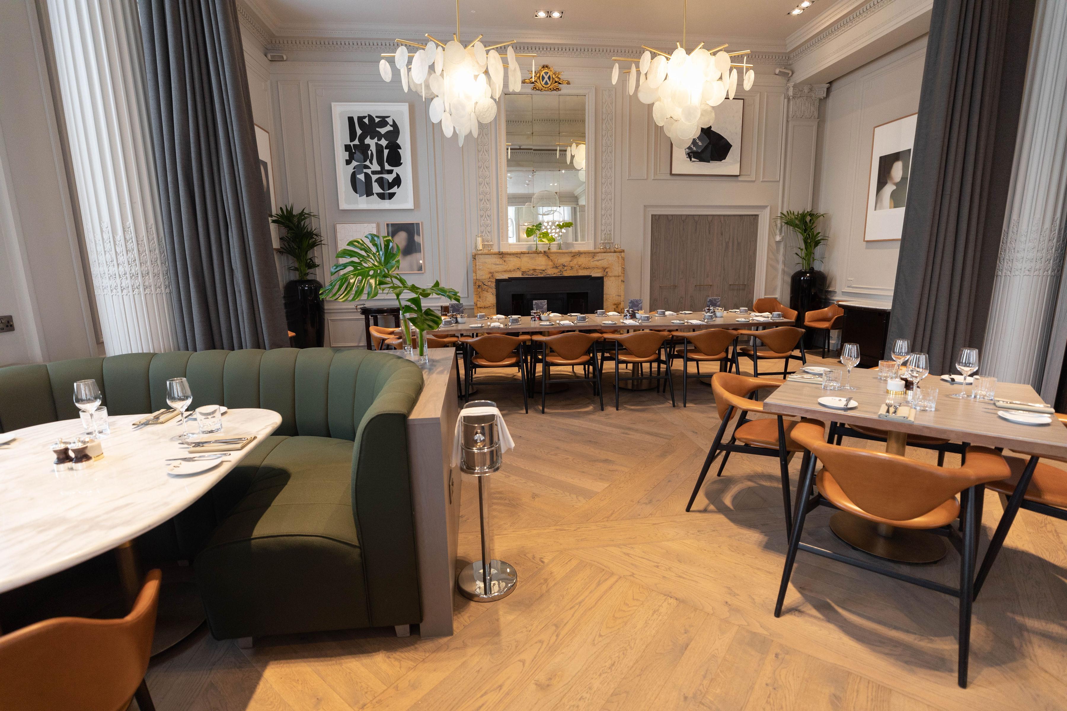 Luxury Restaurants of the World Bo & Birdie Blythswood Glasgow Scotland Fine Dining
