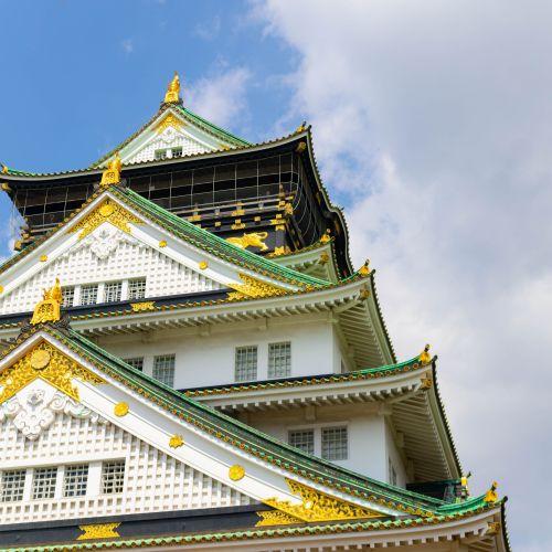Visiting Osaka Castle