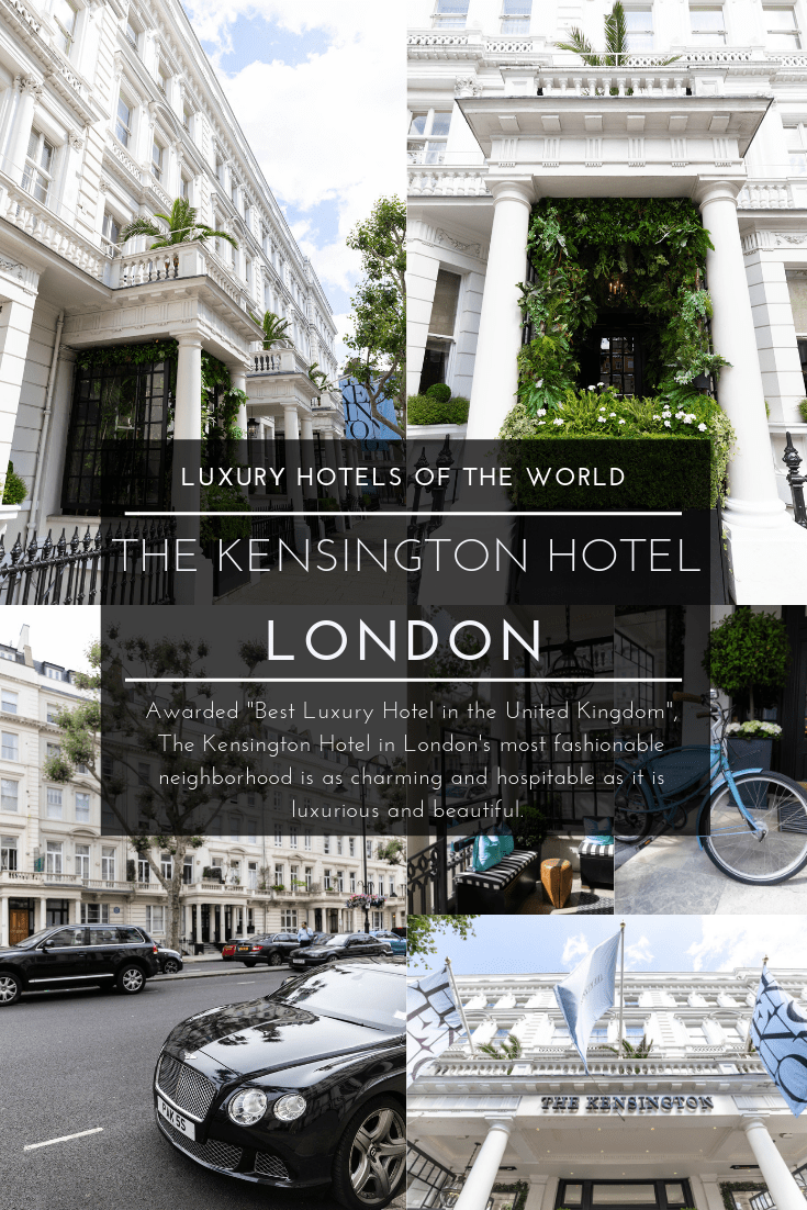 The Kensington Hotel Luxury Hotel in South Kensington, London, United Kingdom, Best Hotels in England United Kingdom Luxury Accommodations by Annie Fairfax