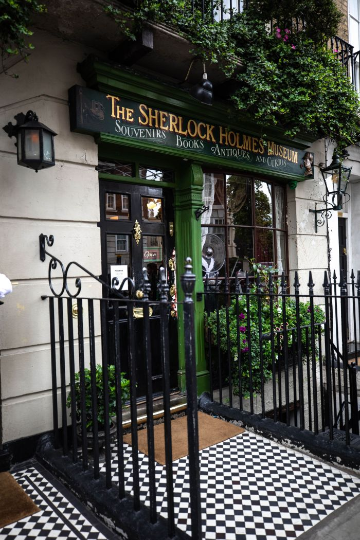 The Sherlock Holmes Museum in London, England