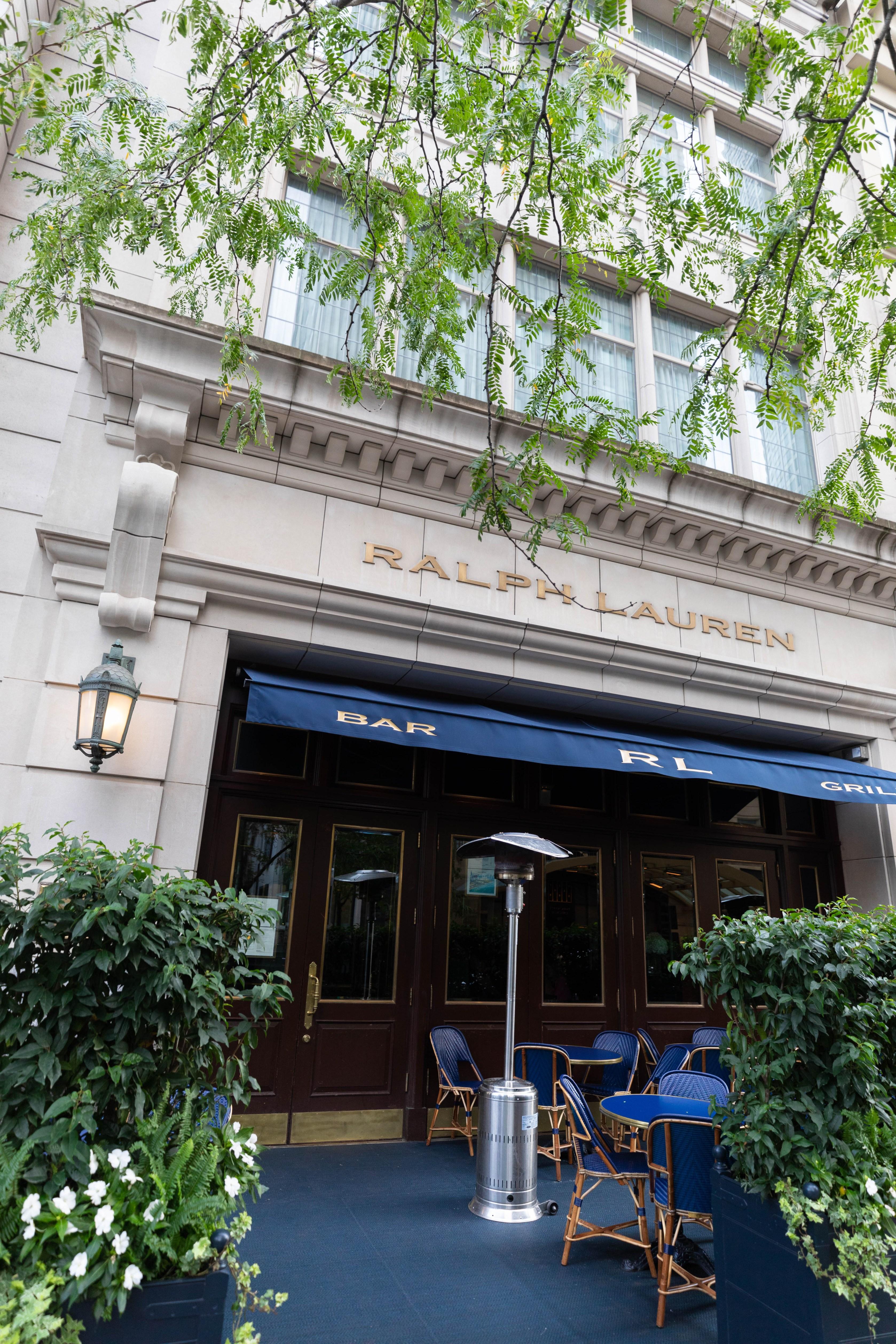 RL Ralph Lauren Restaurant Chicago Flagship Eatery Luxury Restaurants of the World Best Places to Eat in Chicago by Annie Fairfax