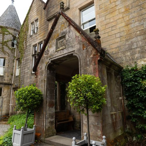 We Spent the Night in a Scottish Castle | Luxurious Glengarry Castle Hotel