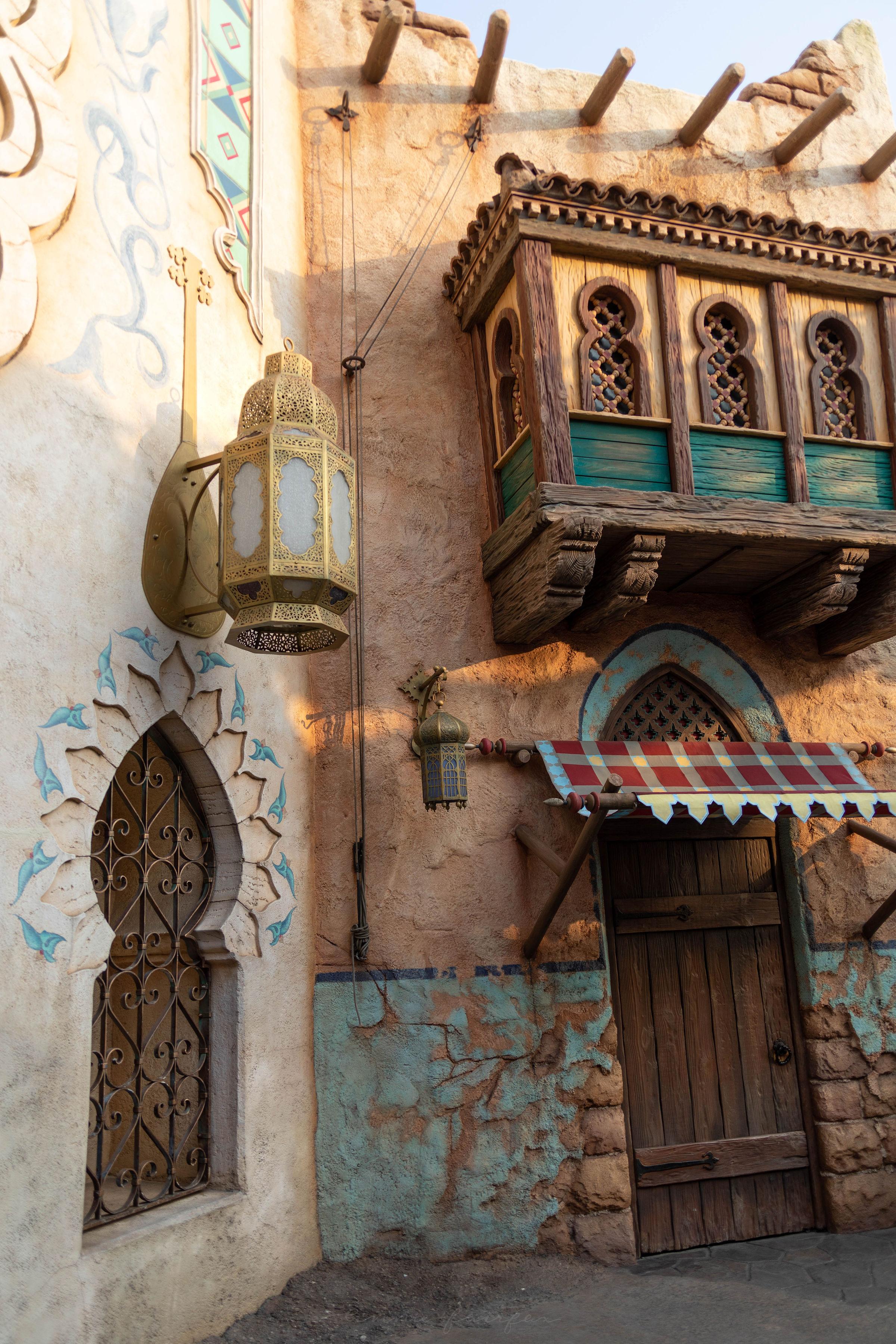 Arabian Coast at Tokyo DisneySea in Japan