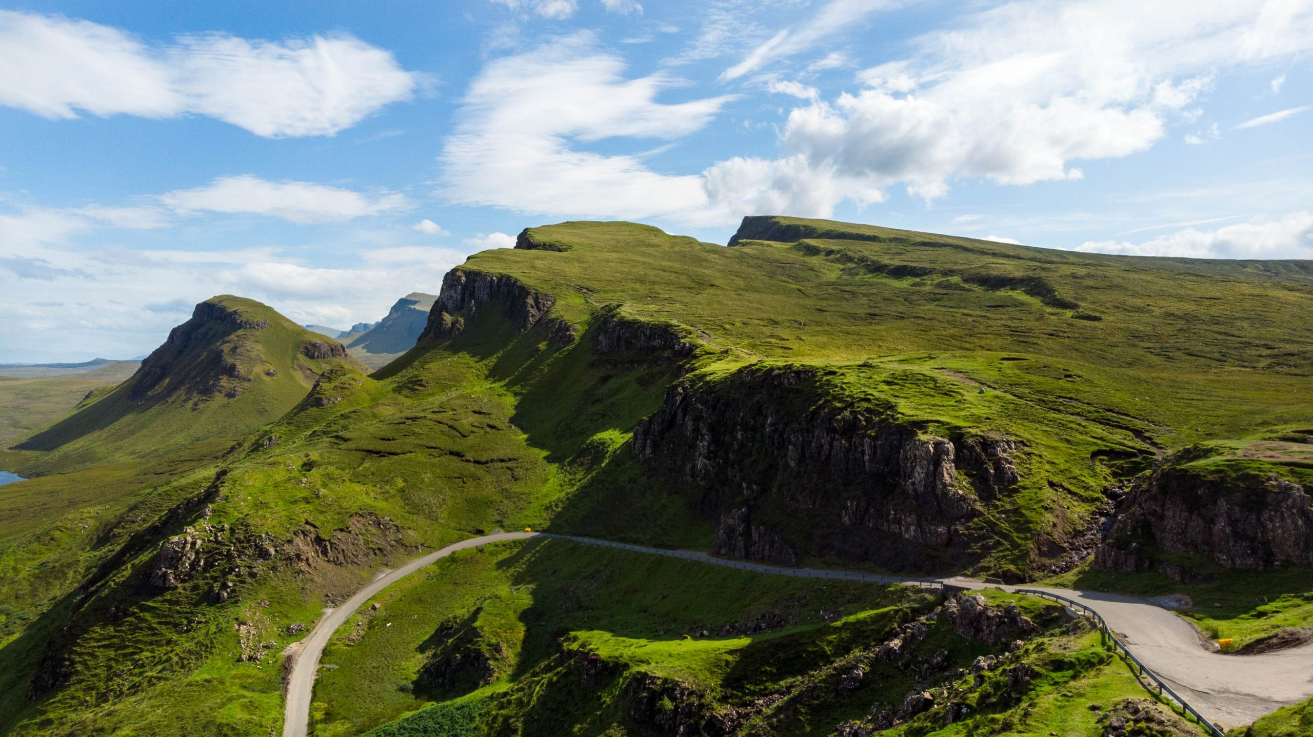 Hiking the Quairaing trails on Isle of Skye in Scotland, United Kingdom Incredible Things to do in Scotland