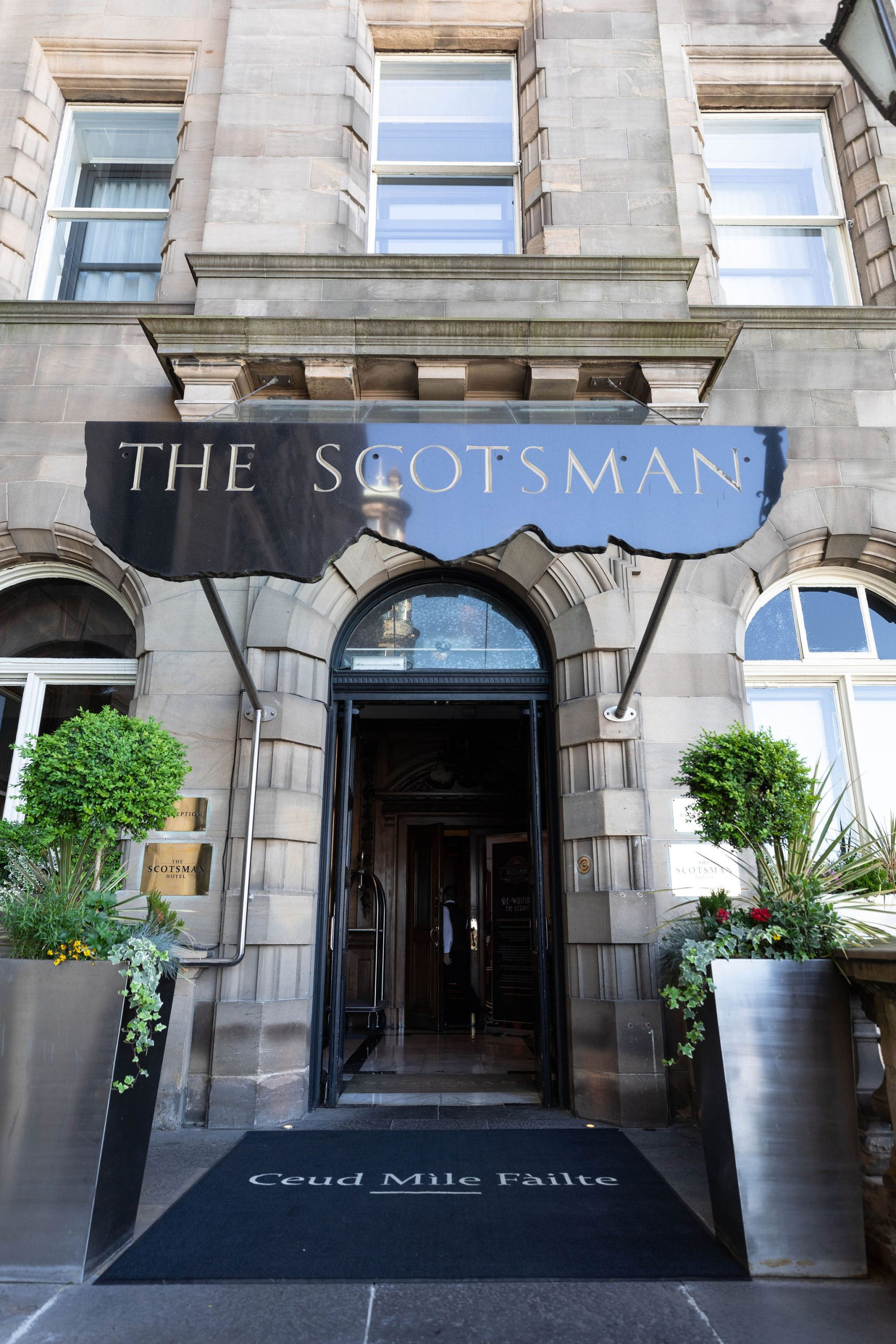 The Scotsman Hotel in Edinburgh, Scotland, United Kingdom Accommodation Luxury Review by Annie Fairfax