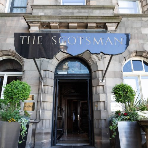 Luxury Hotels of the World: The Scotsman Hotel in Edinburgh