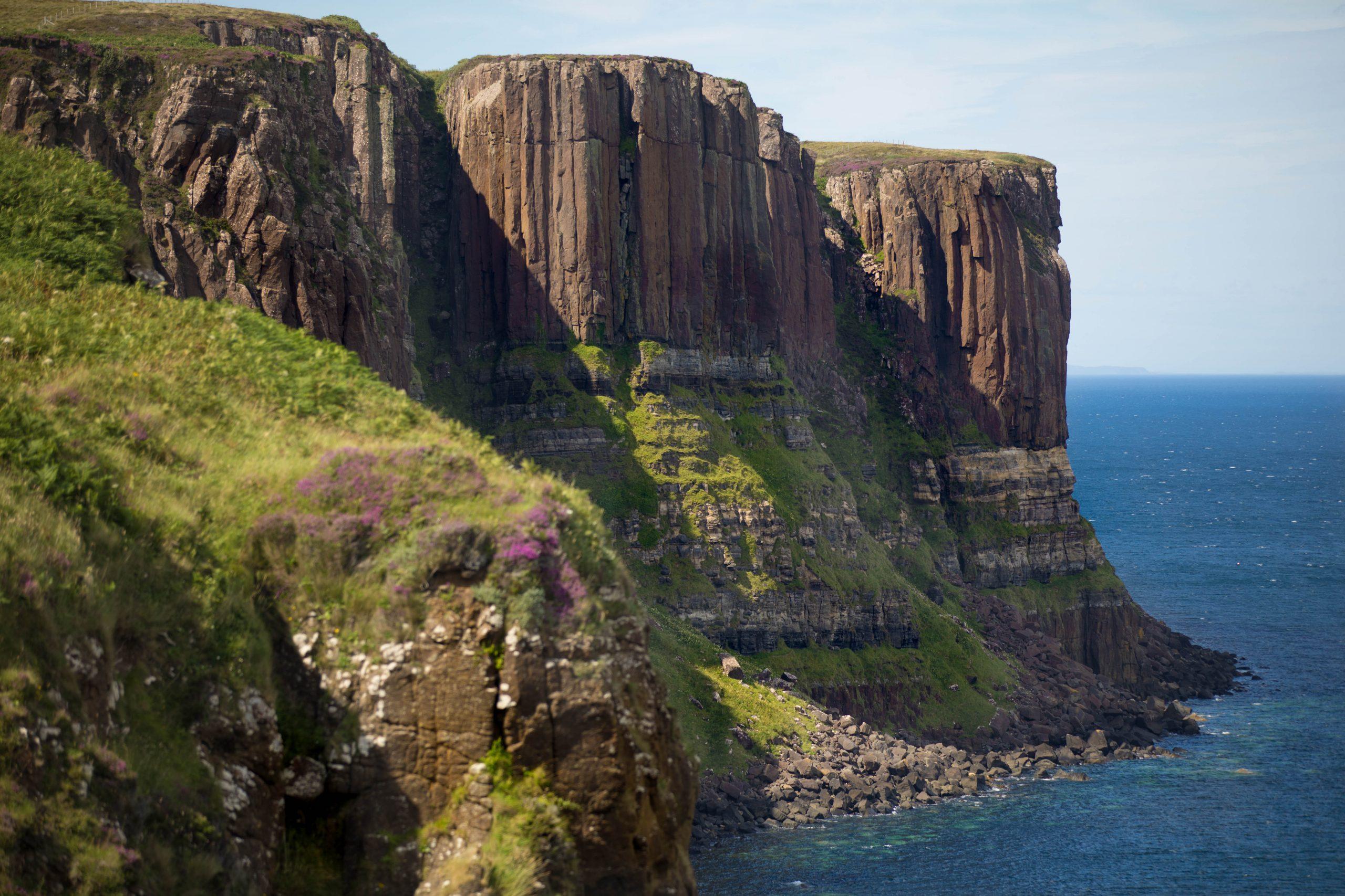 Neist Point Lighthouse Isle of Skye Scotland Highlands by Annie Fairfax