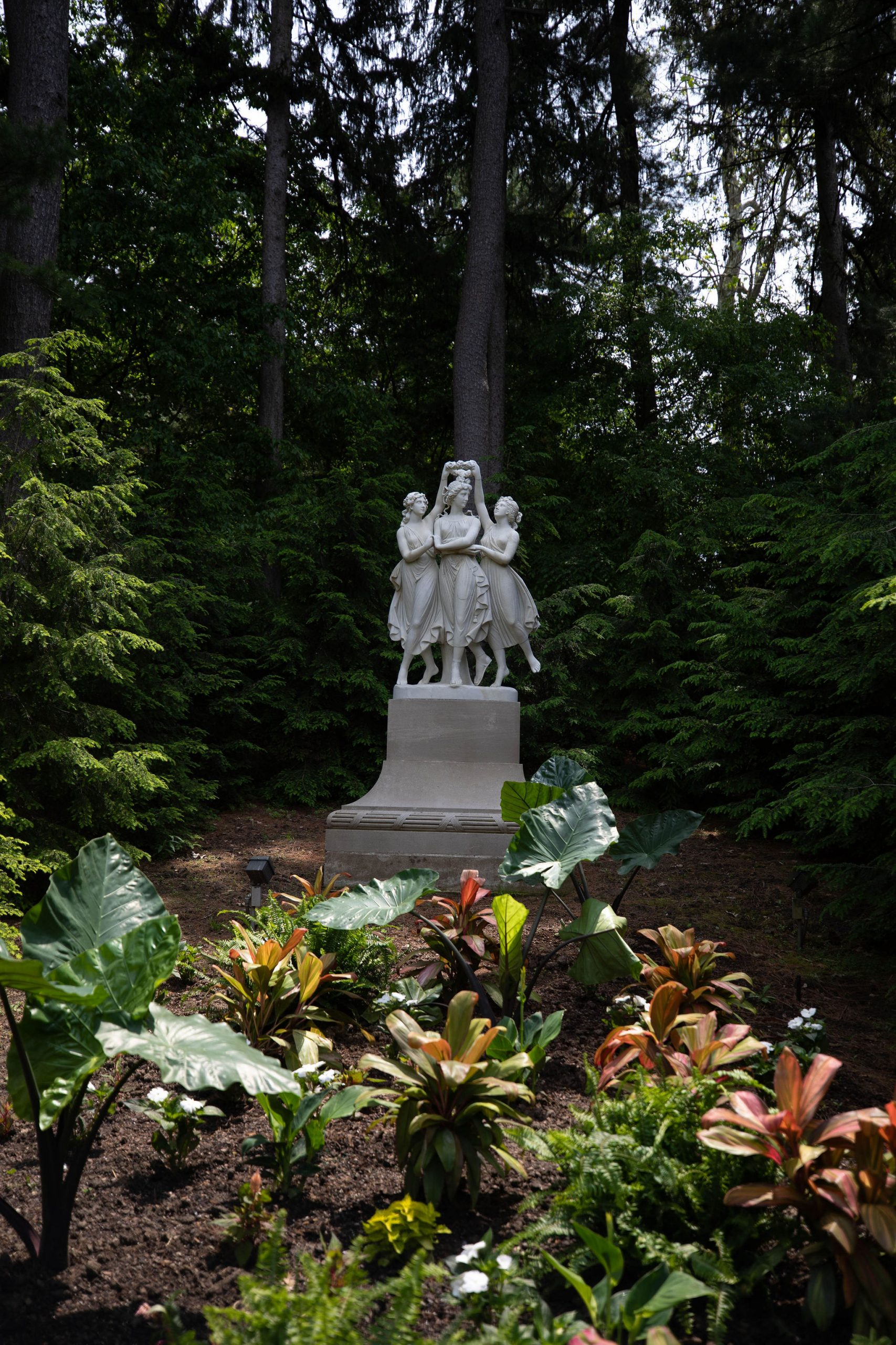 The Three Graces at Newfields Gardens Indianapolis, IN