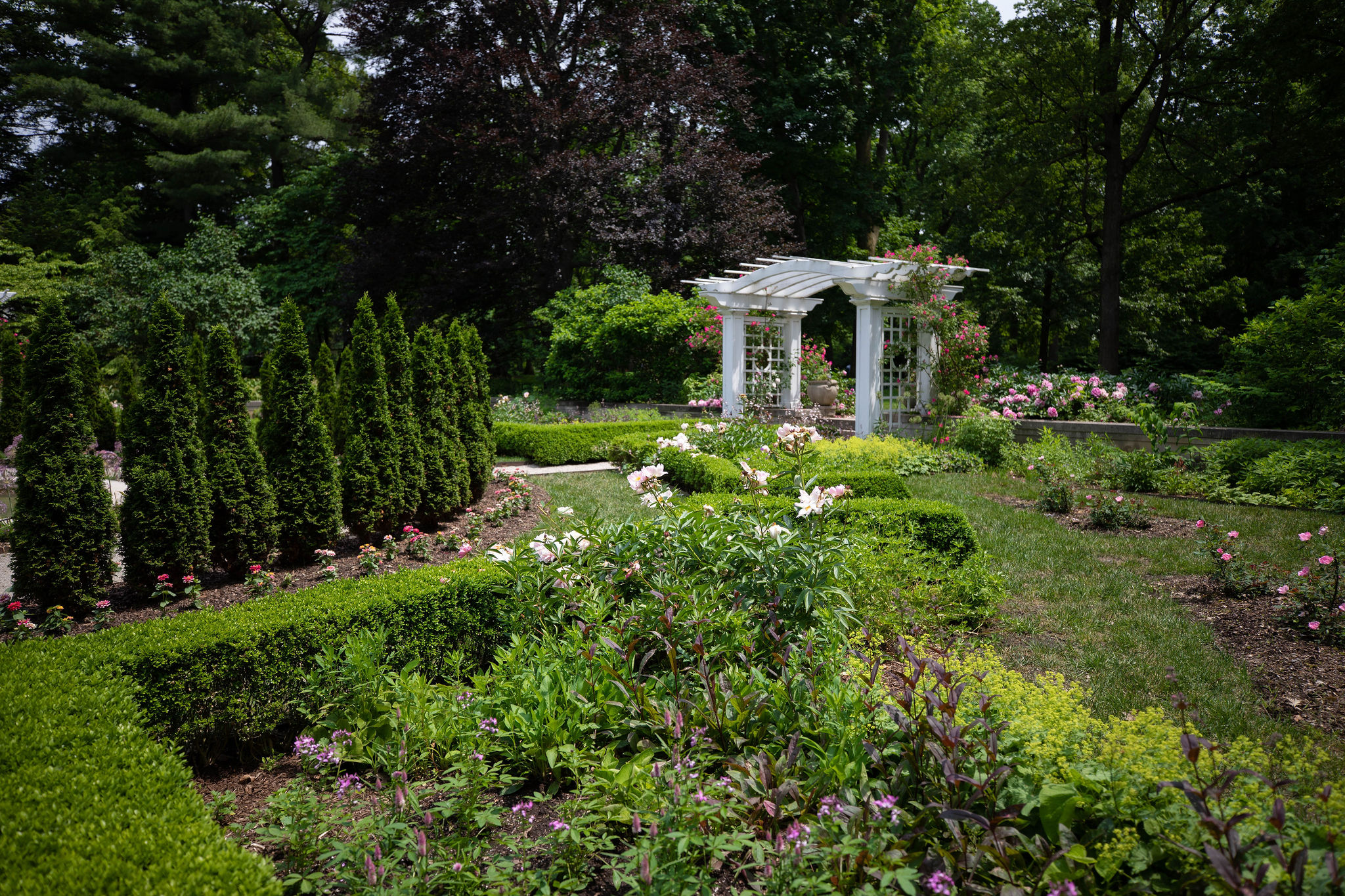 Newfields Gardens in Indianapolis, IN