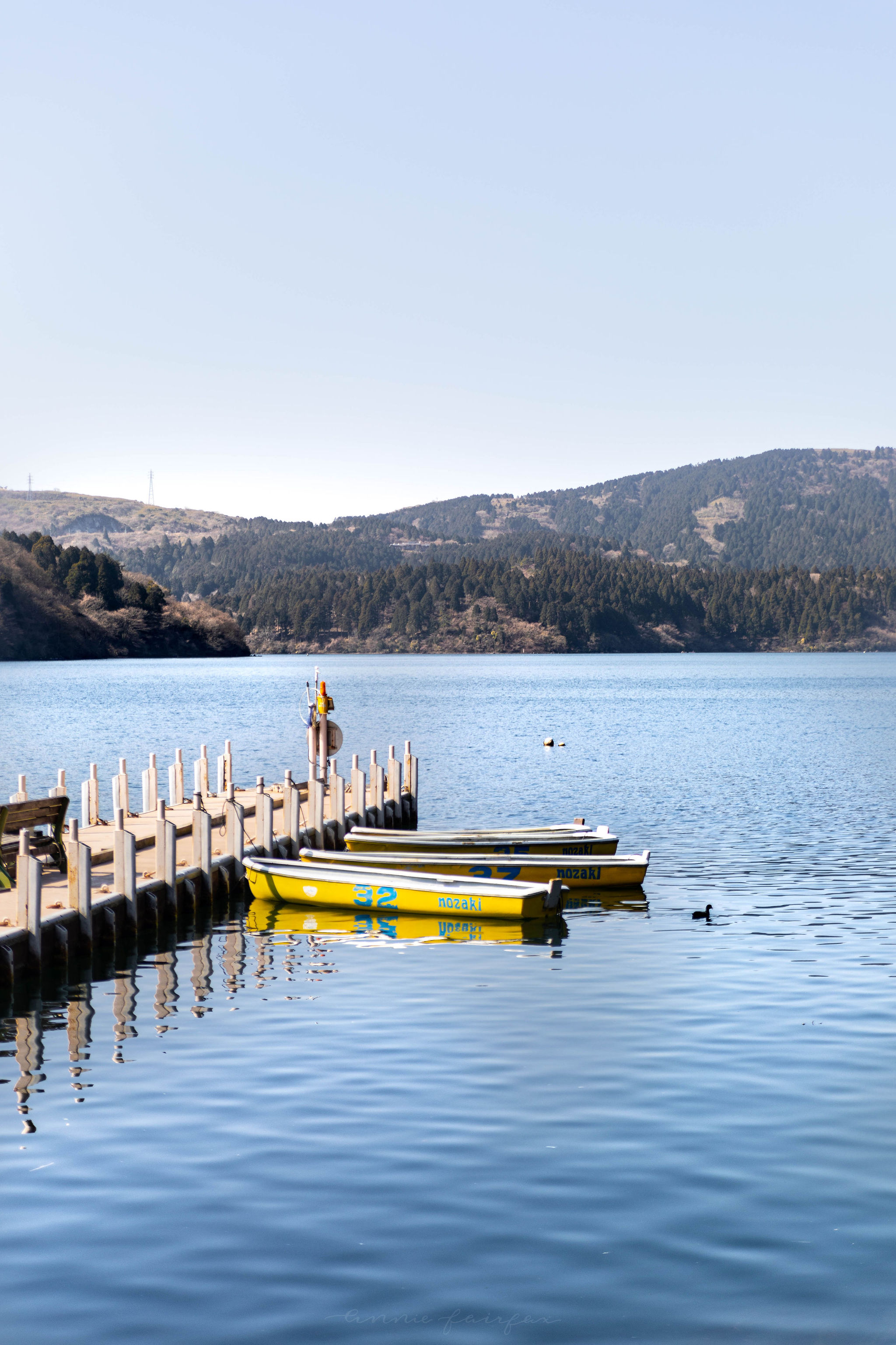 Lake Ashi in Hakone Japan