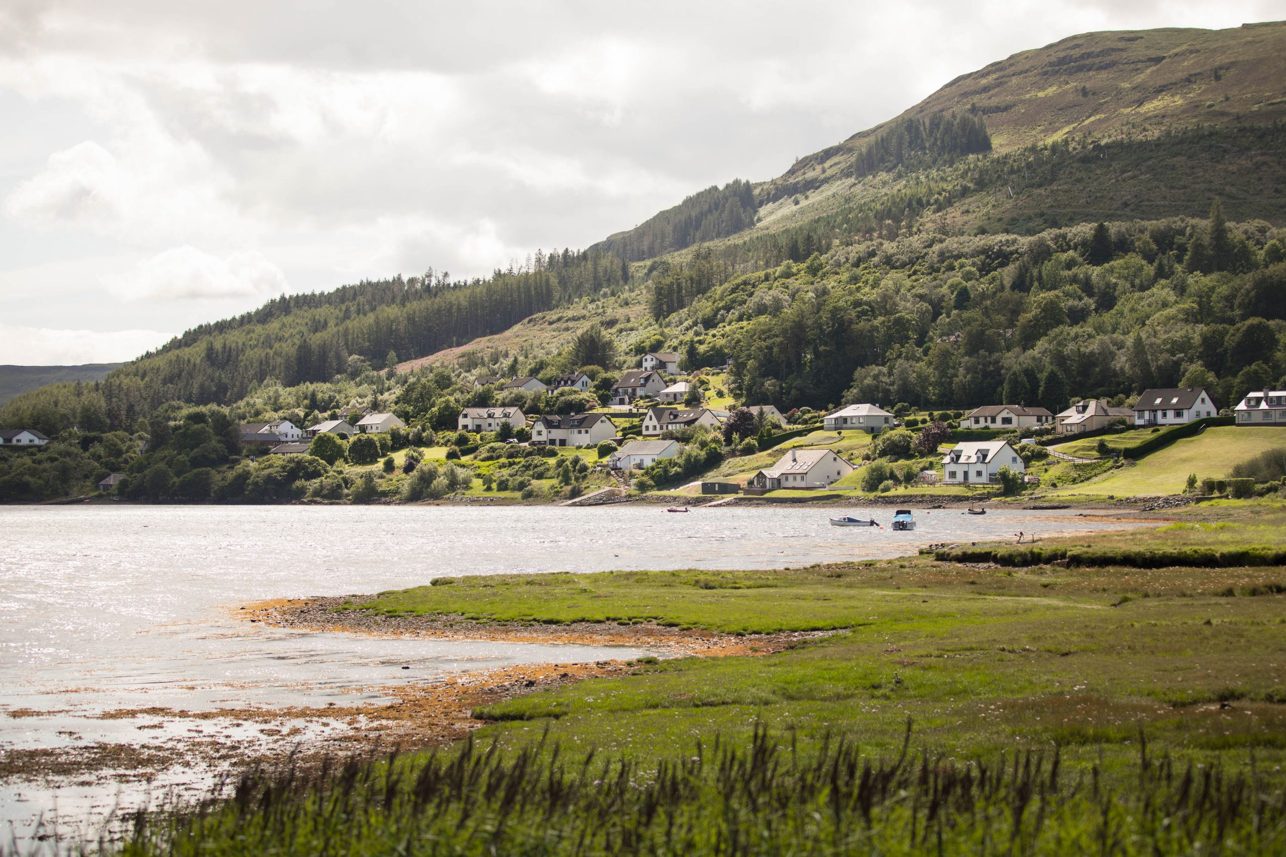 Portree the Capital City of the Isle of Skye in Scotland by Annie Fairfax