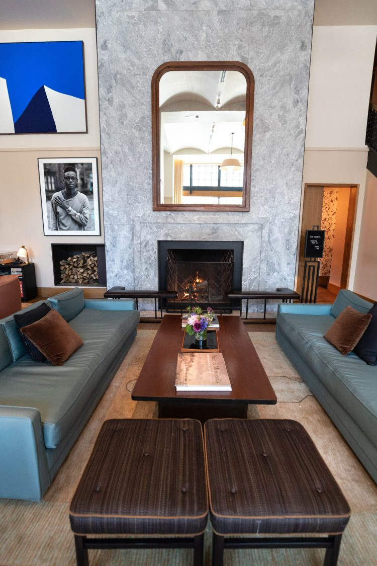Luxury Hotels of the World: Shinola Hotel's Penthouse Suite