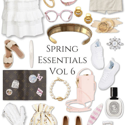 Spring Essentials Volume 6 Loveshackfancy The Daily Edited, APL, Louis Vuitton, Kiehl James Patrick, Spring Pink Fashion Outfit Style Inspiration